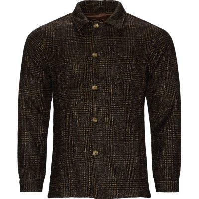 6689 Andy Overshirt Regular fit | 6689 Andy Overshirt | Brun