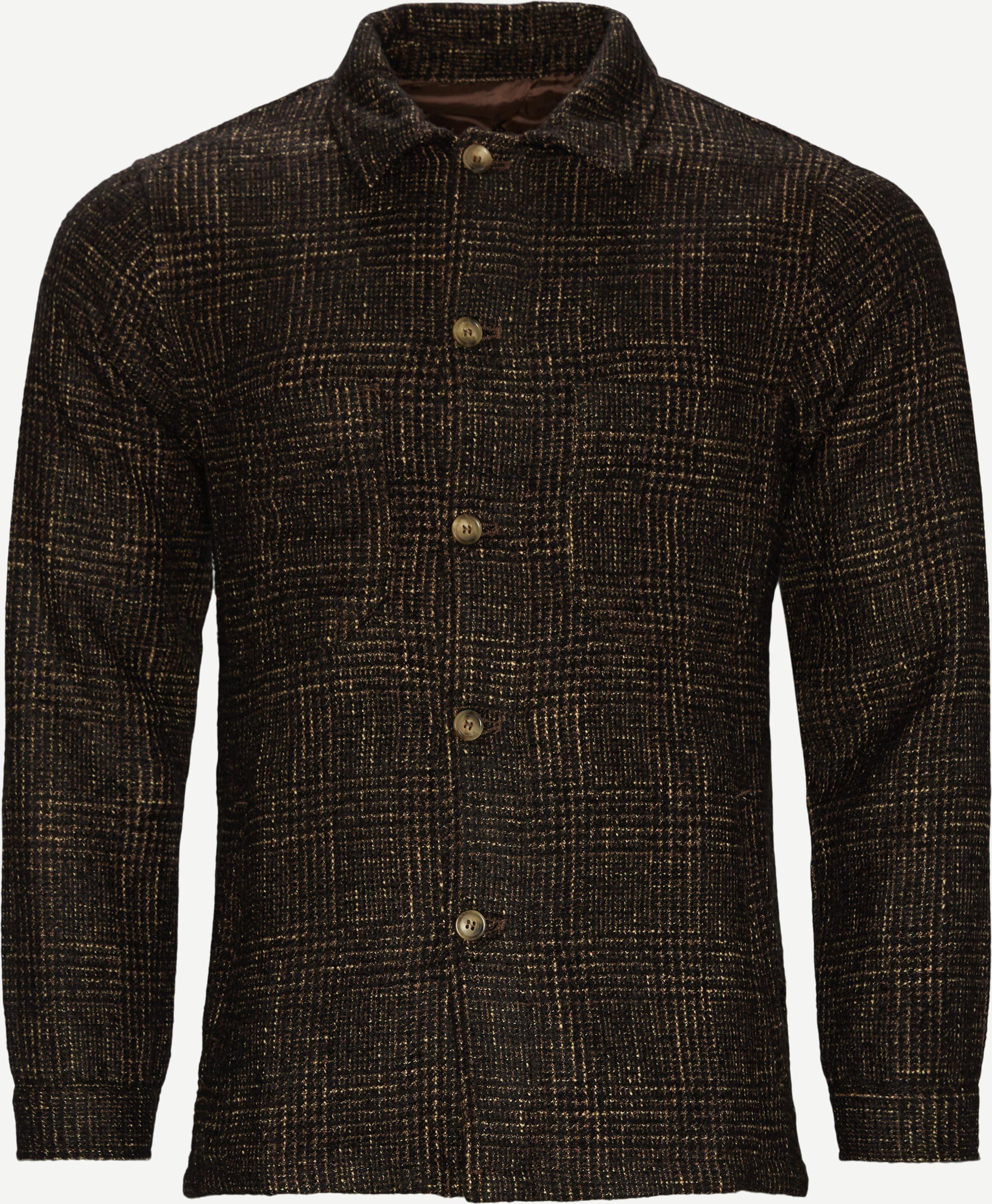 6689 Andy Overshirt - Overshirts - Regular fit - Brun