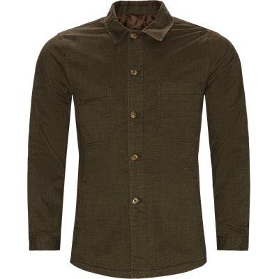 0766 Andy Overshirt Regular fit | 0766 Andy Overshirt | Army