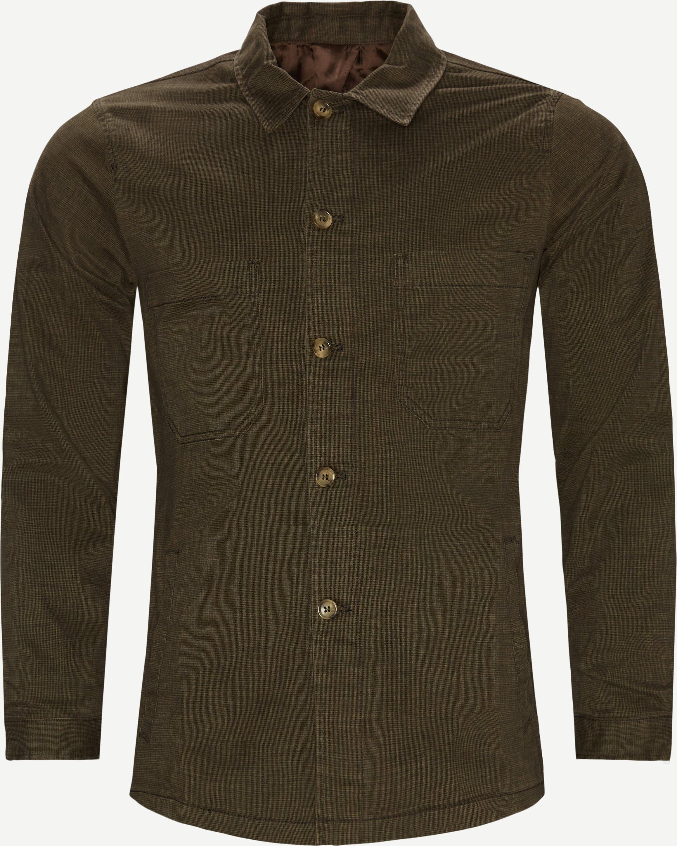 0766 Andy Overshirt - Blazer - Regular fit - Army