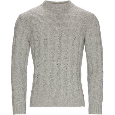 5501 Iq Turtle Neck Knit Regular fit | 5501 Iq Turtle Neck Knit | Grå