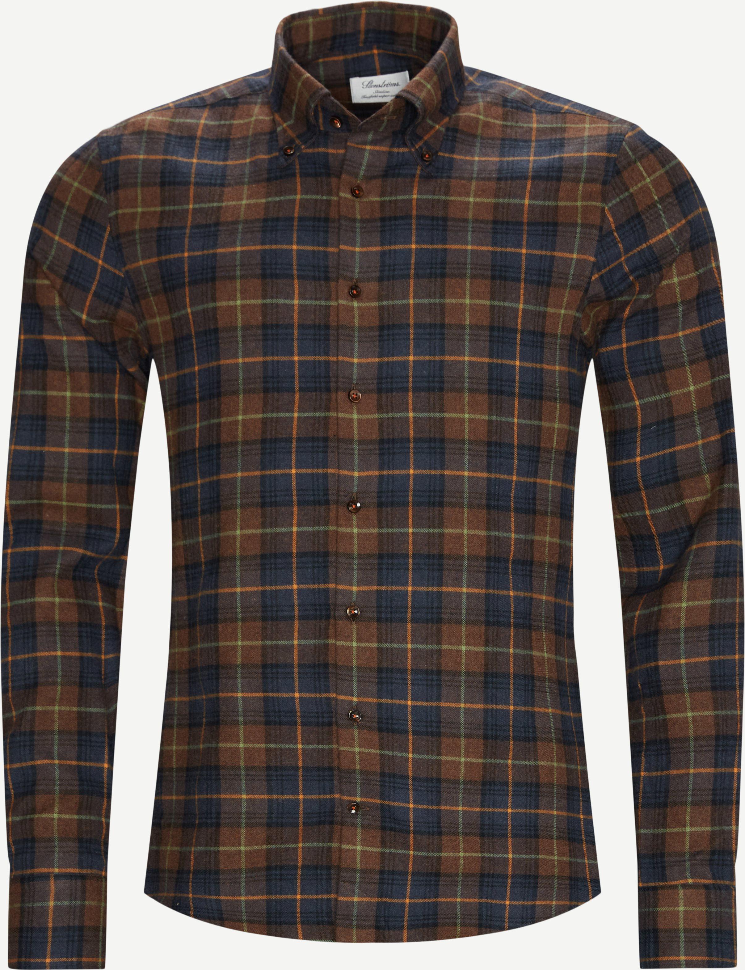 Shirts - Brown