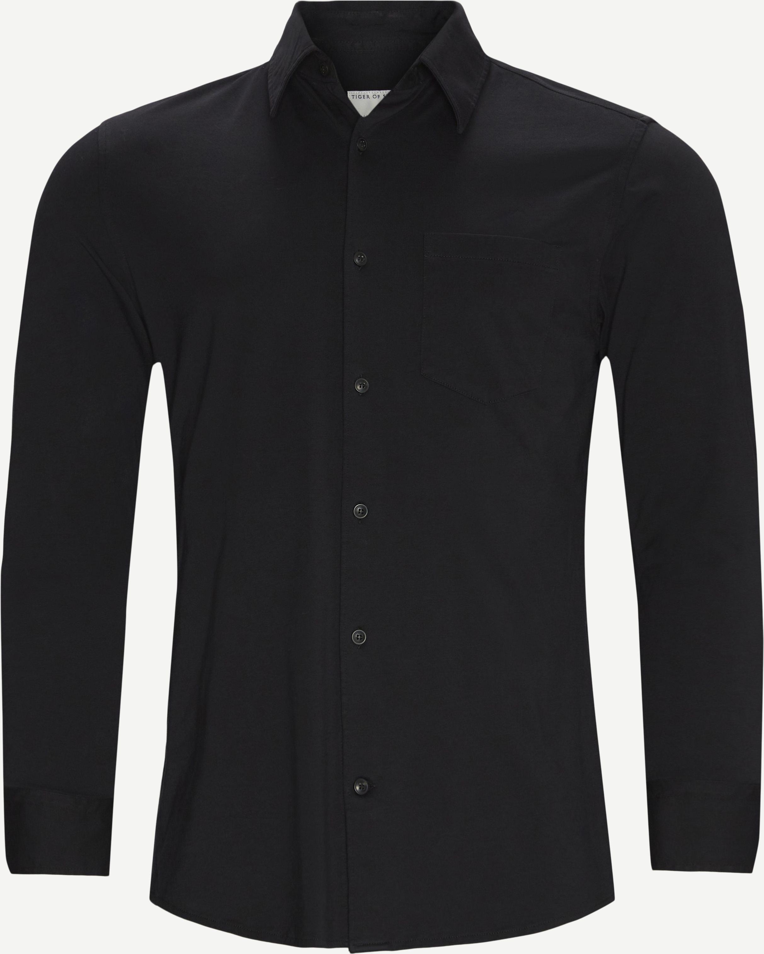 Hemden - Regular fit - Schwarz