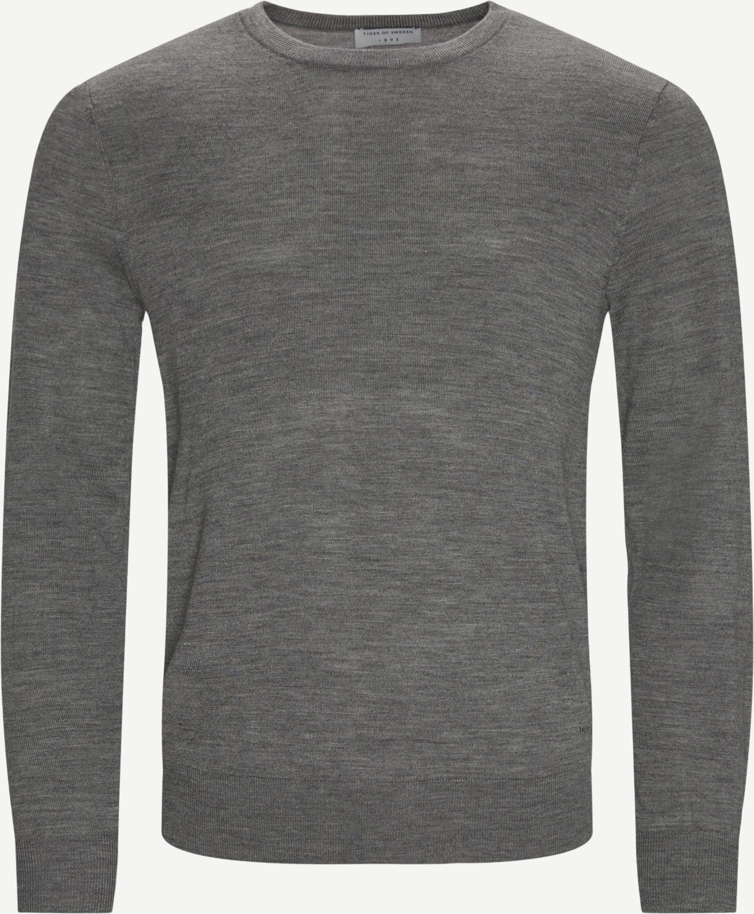 Strickwaren - Regular fit - Grau
