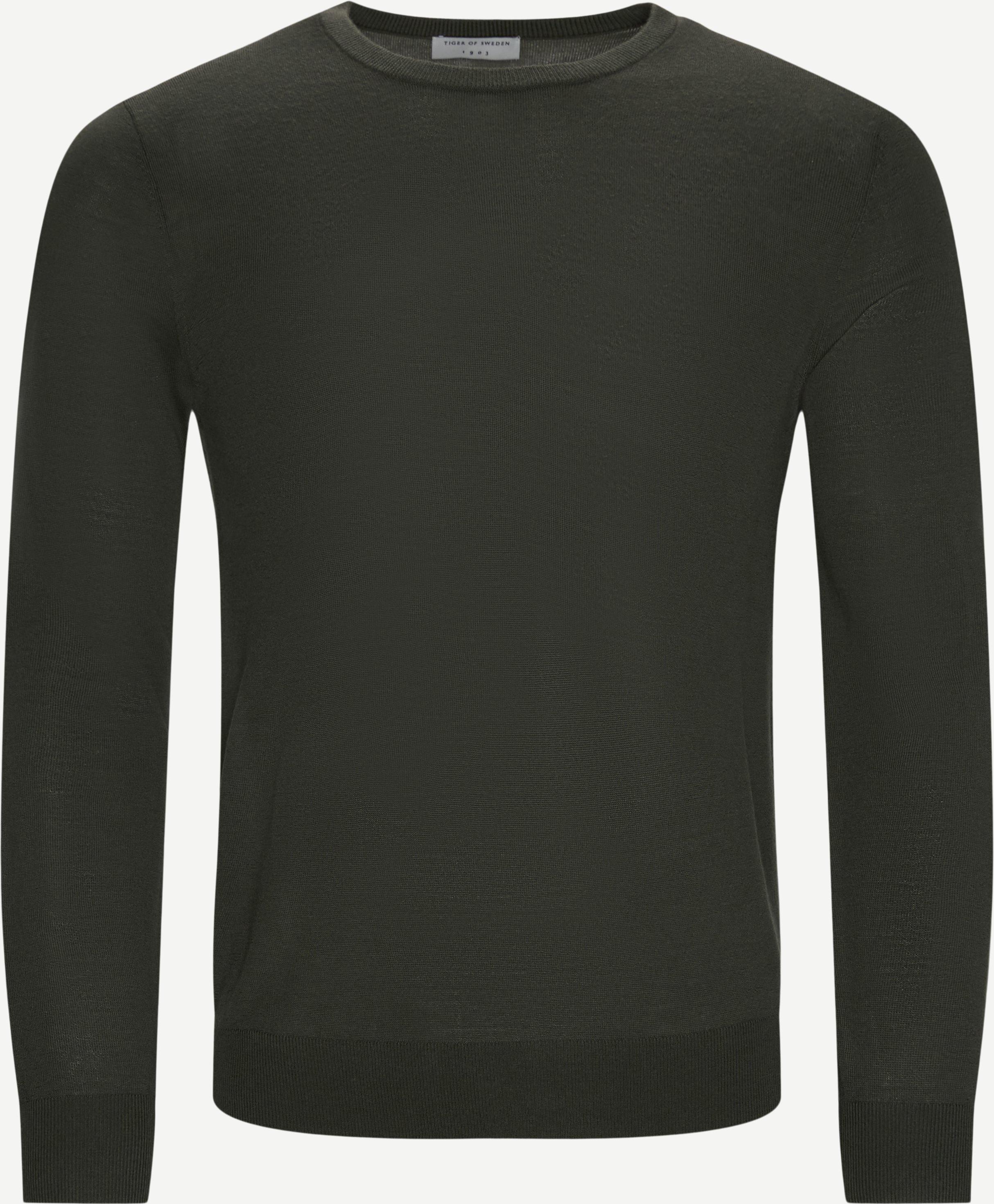 Strickwaren - Regular fit - Grün