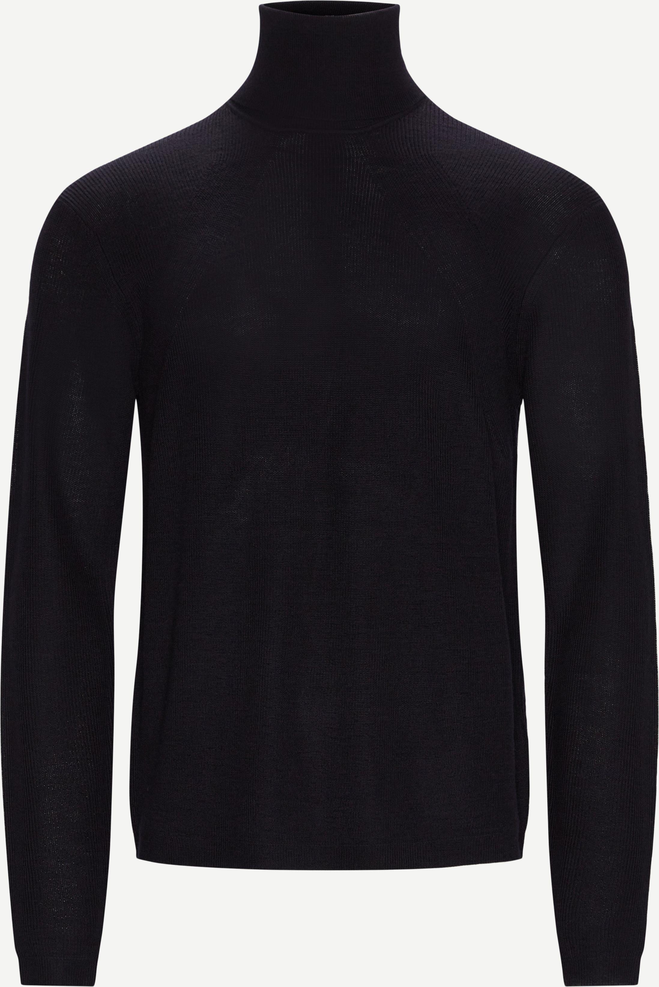 Knitwear - Regular fit - Blue