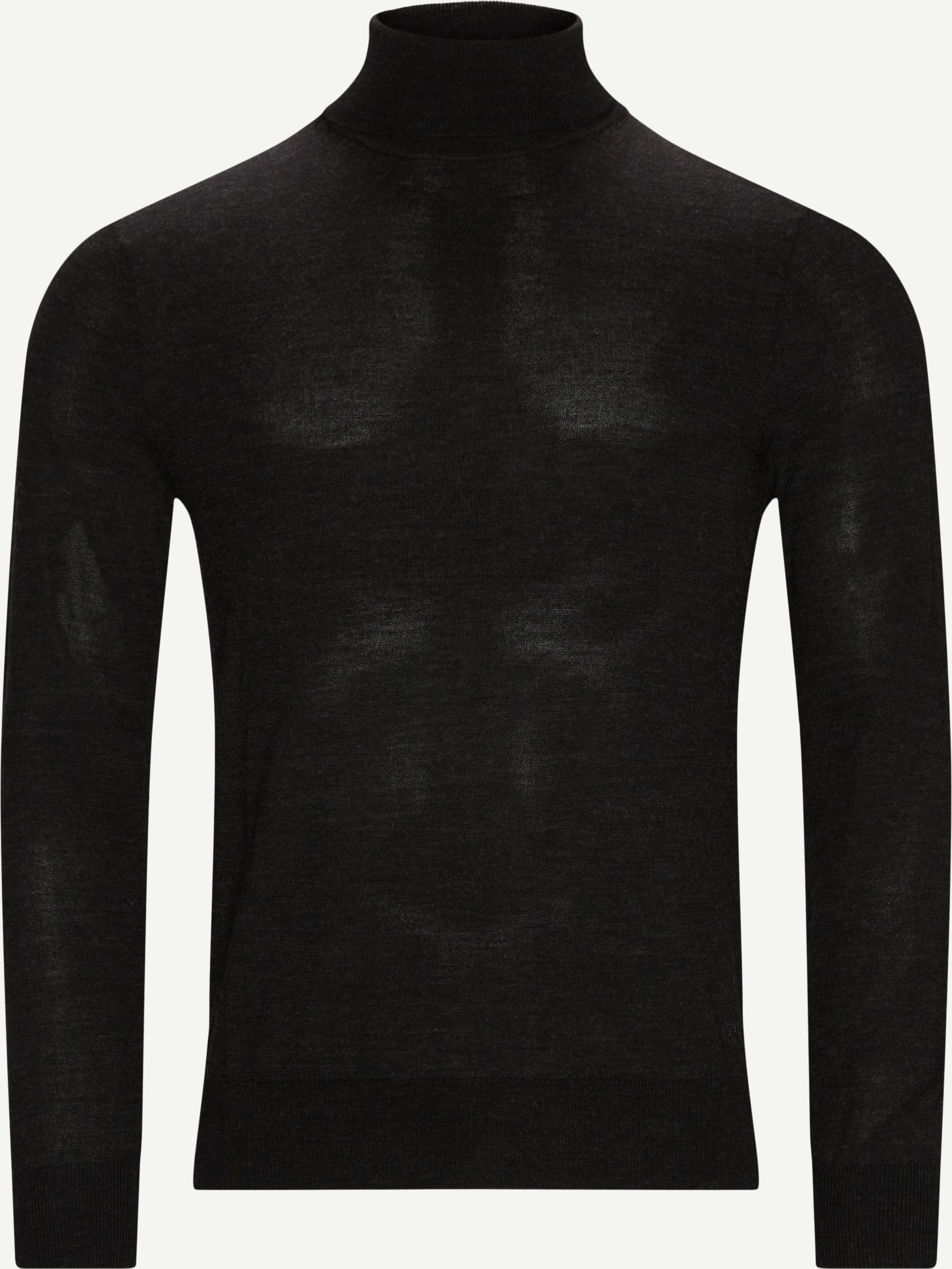 Knitwear - Slim fit - Grey