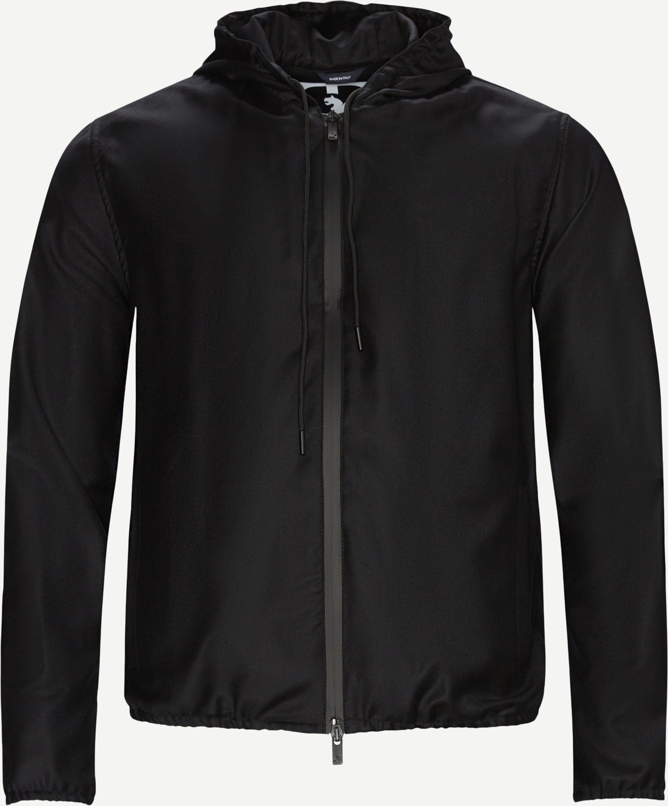 K-Way Zero Gravity Hooded Sweatshirt - Sweatshirts - Regular fit - Sort