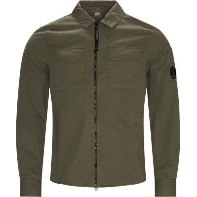 Gabardine Shirt Regular fit | Gabardine Shirt | Army