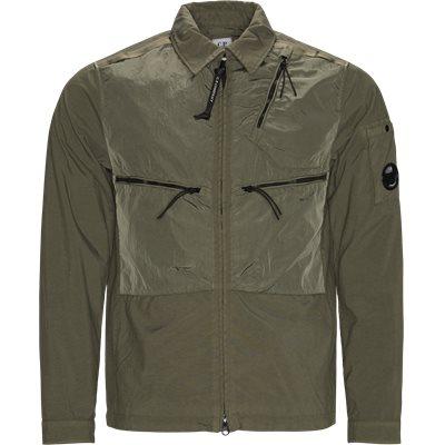 Taylon Mixed Overshirt Regular fit   Taylon Mixed Overshirt   Army