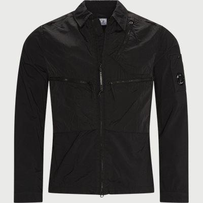 Taylon Mixed Overshirt Regular fit | Taylon Mixed Overshirt | Sort