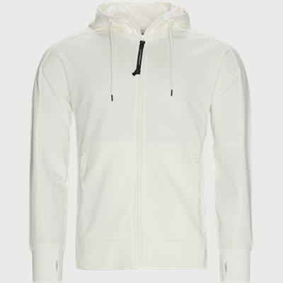 Diogonal Raised Hooded Sweatshirt Regular fit | Diogonal Raised Hooded Sweatshirt | Hvid