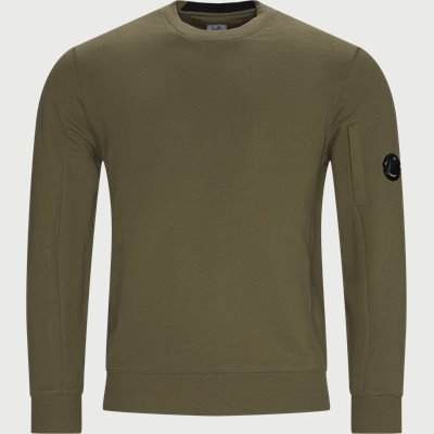 Crew Neck Diagonal Raised Sweatshirt Regular fit   Crew Neck Diagonal Raised Sweatshirt   Army
