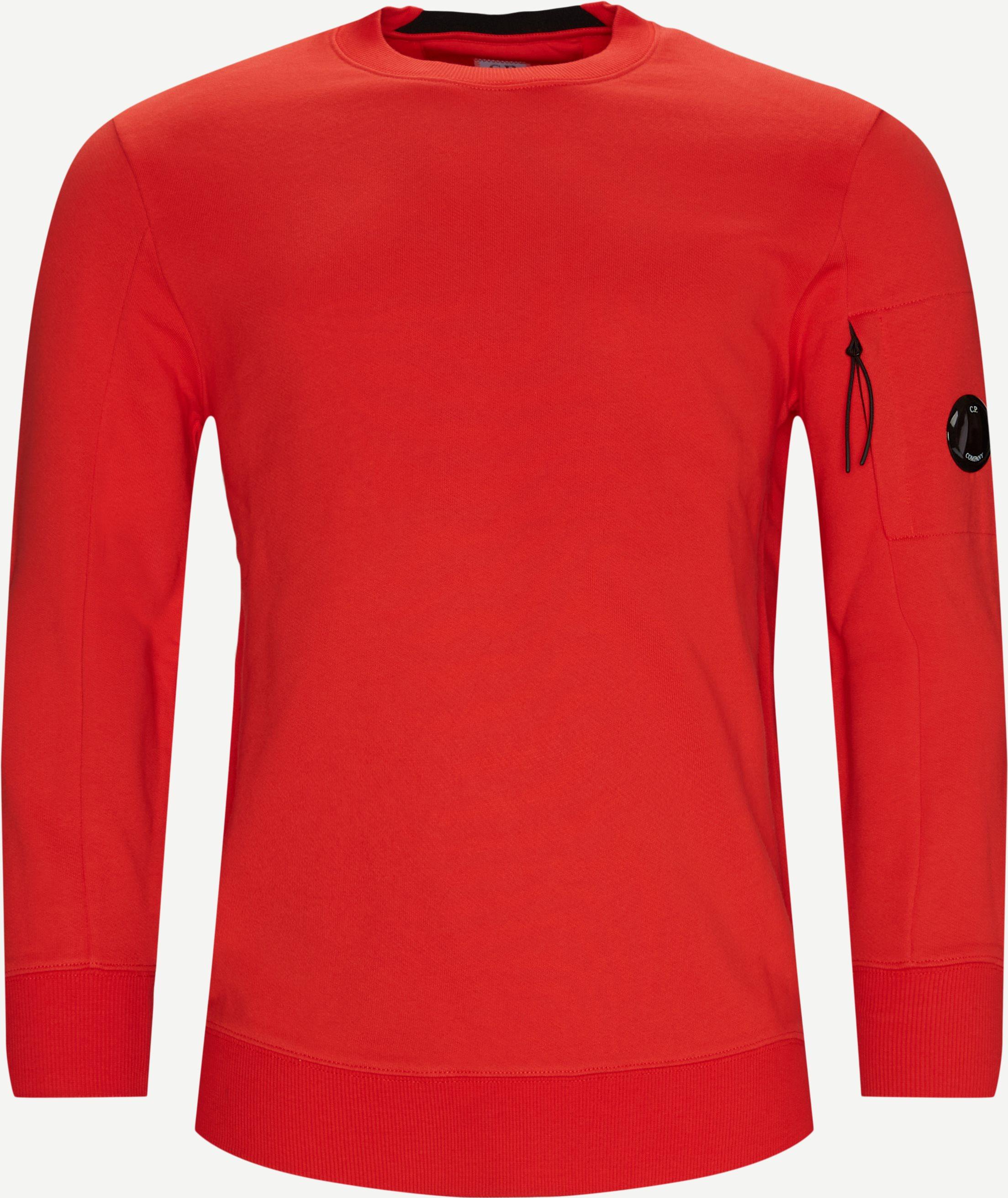 Sweatshirts - Regular fit - Röd
