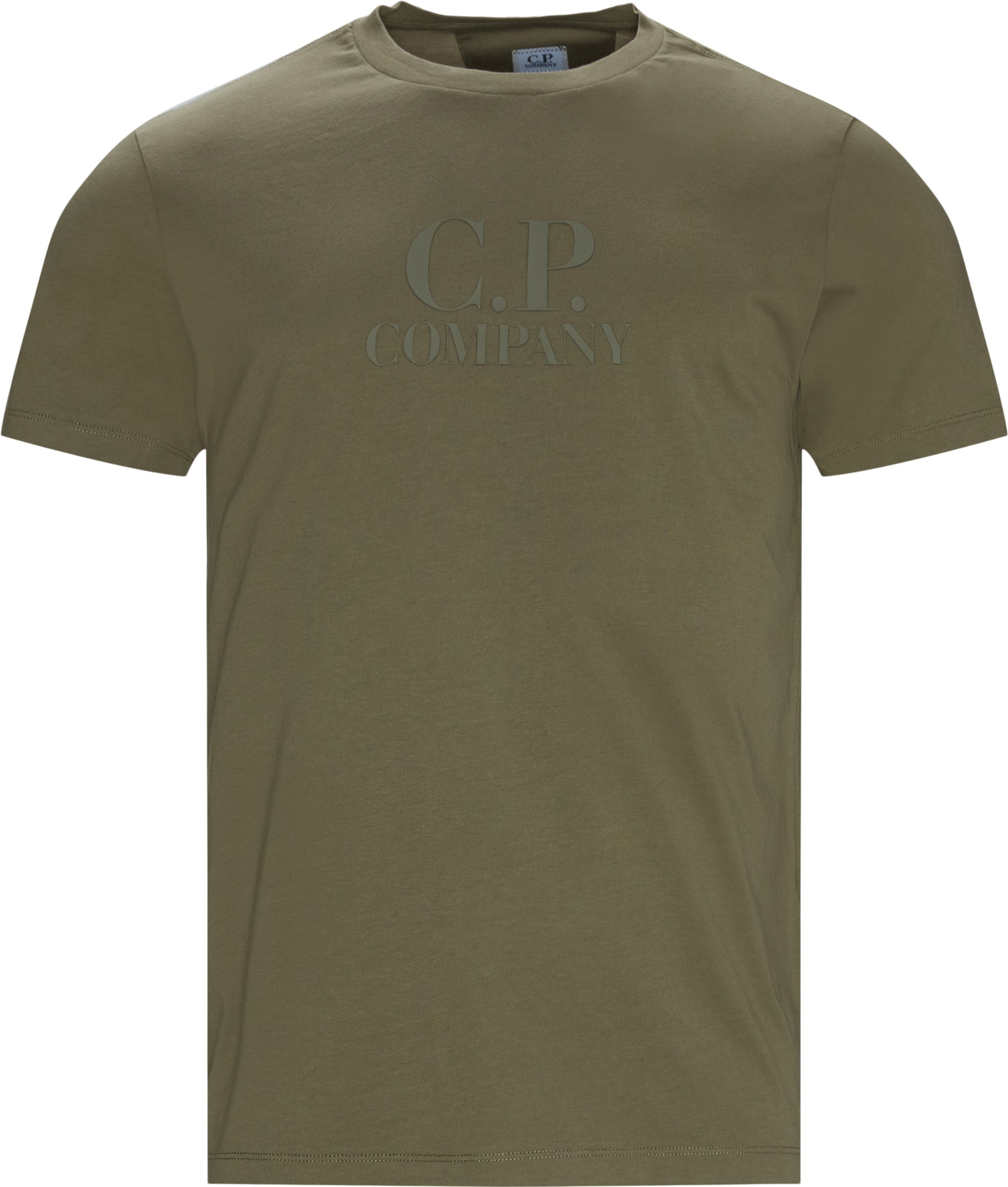 Jersey Tee - T-shirts - Regular fit - Army