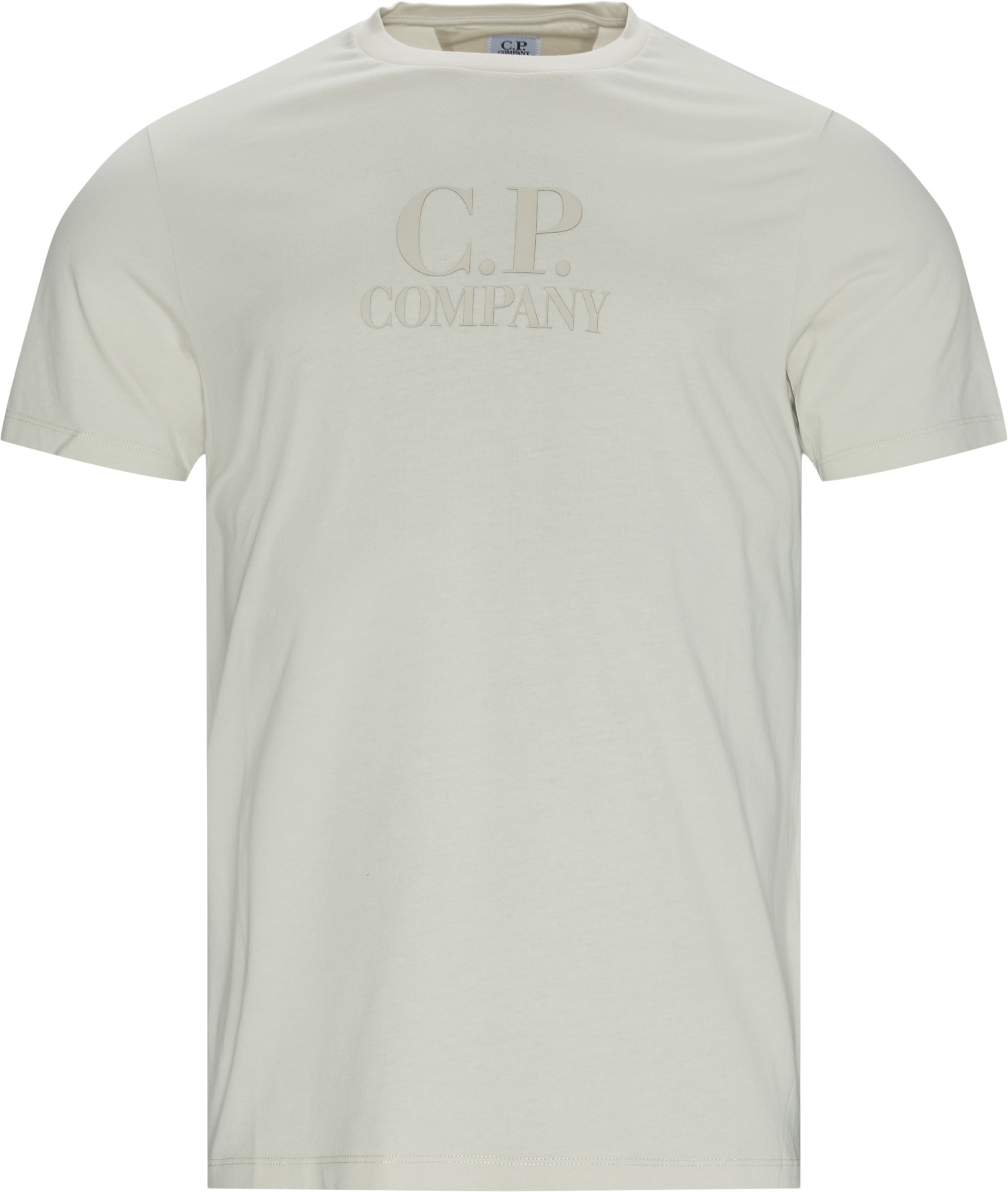 Jersey Tee - T-shirts - Regular fit - Sand