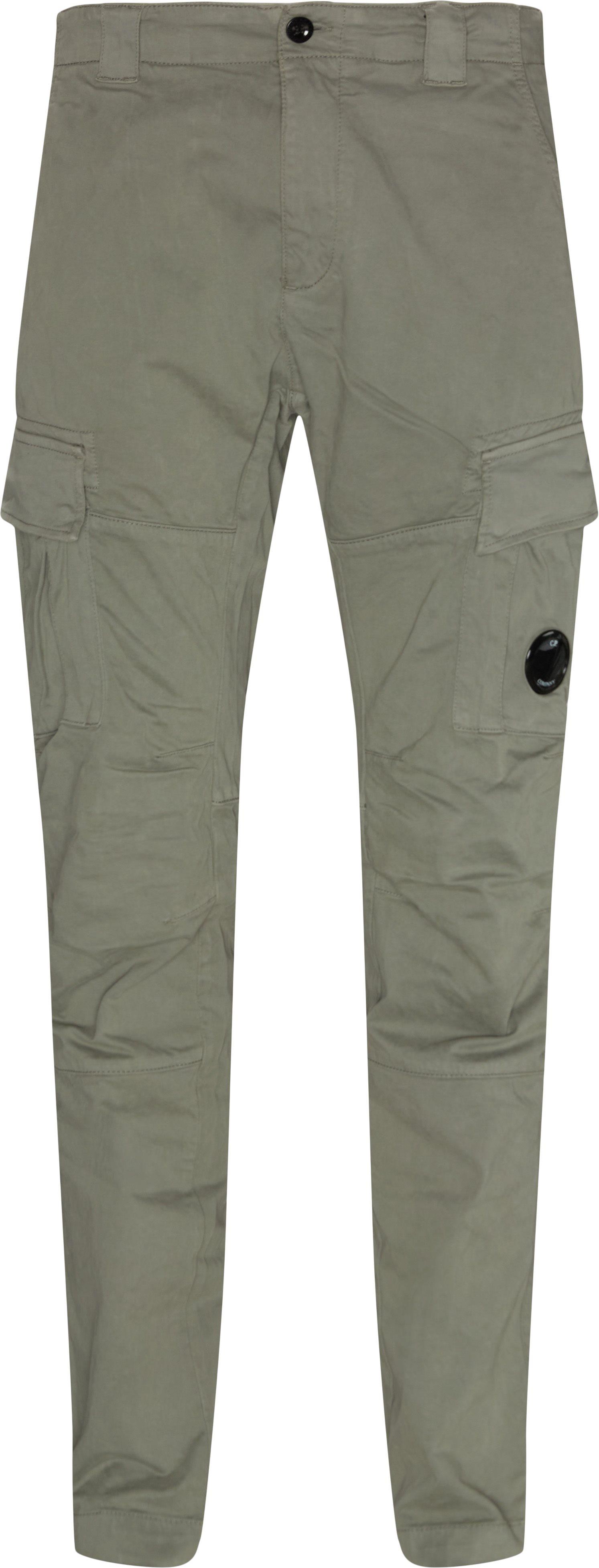 Trousers - Regular fit - Grey