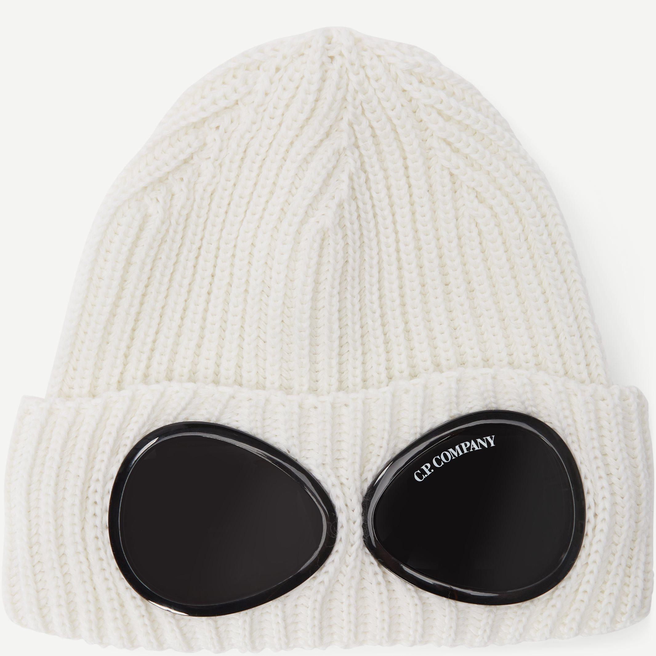 Goggle Beanie - Caps - Hvid