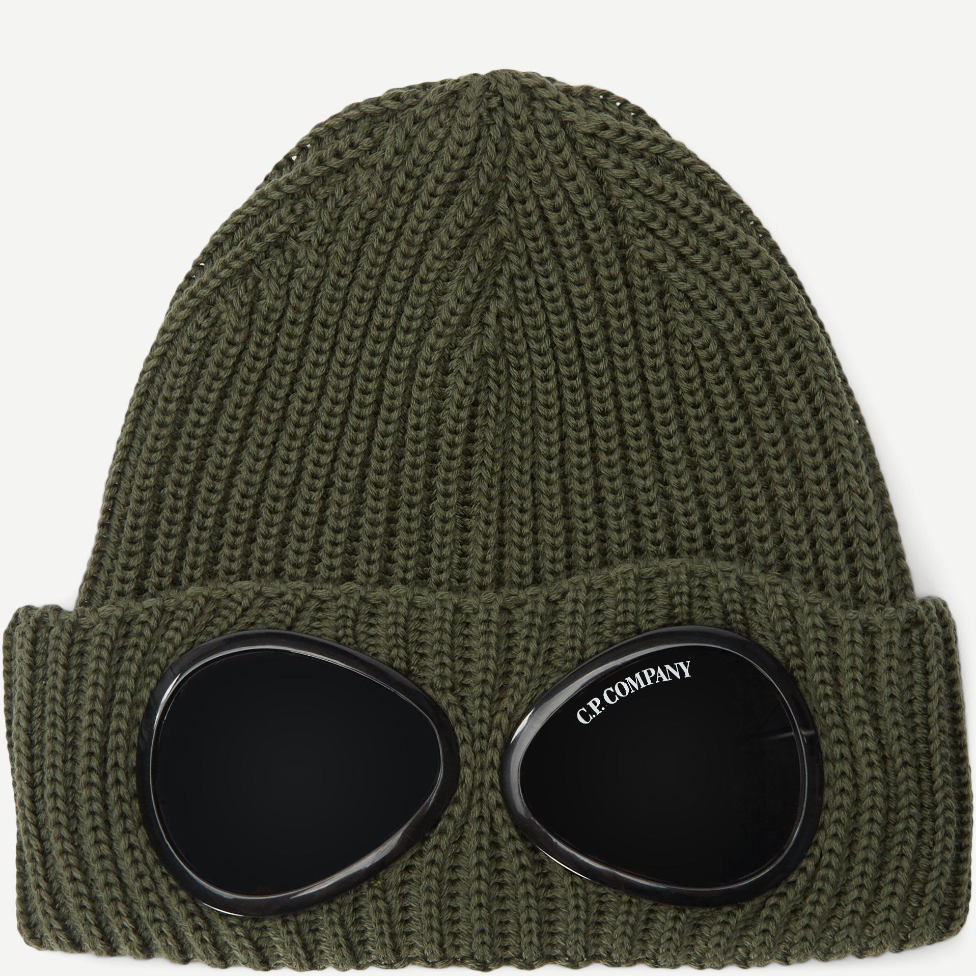 Goggle Beanie - Caps - Army