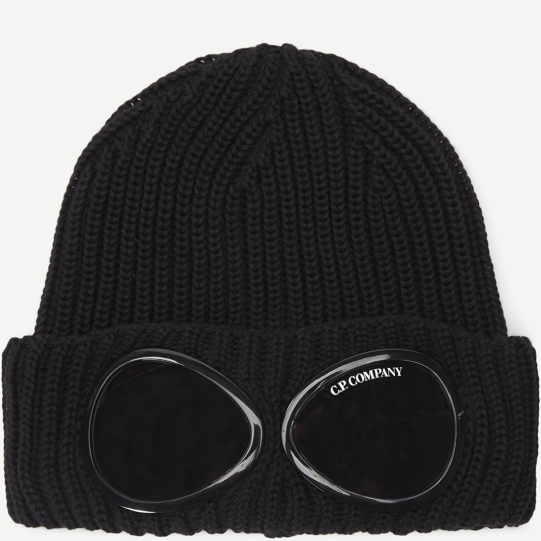 Goggle Beanie - Caps - Sort