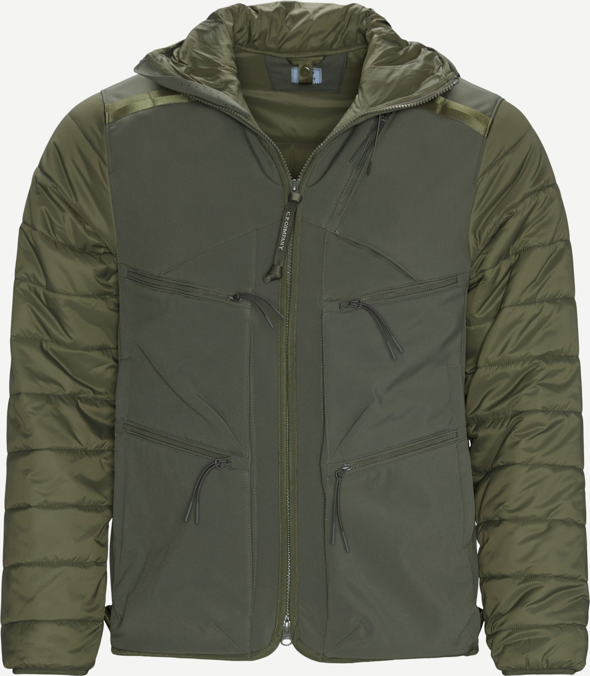 Shell-R Goggle Jacket - Jakker - Regular fit - Army