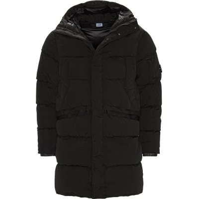 Nycra Long Down Jacket Regular fit | Nycra Long Down Jacket | Sort
