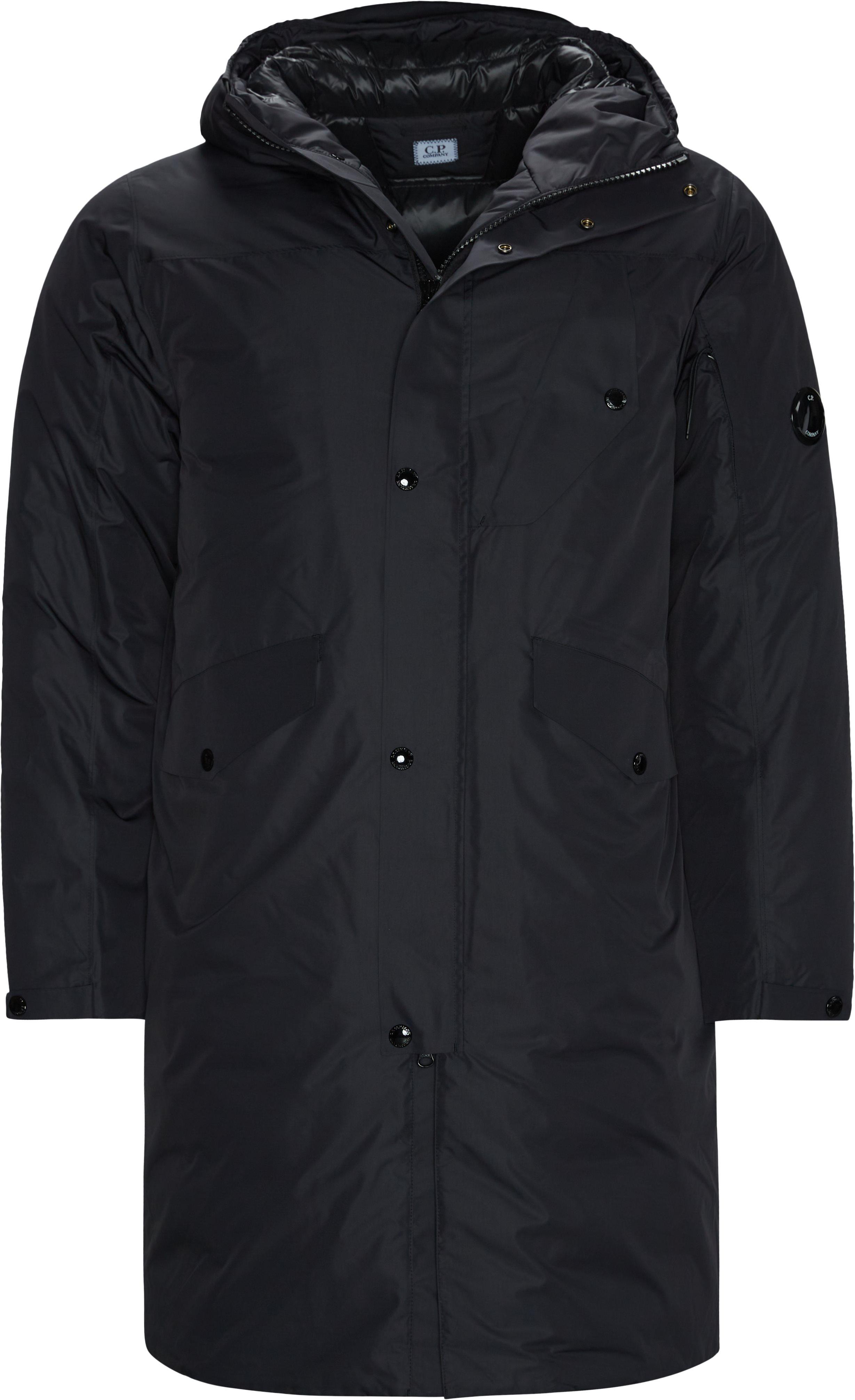 Down Jacket - Jakker - Regular fit - Sort