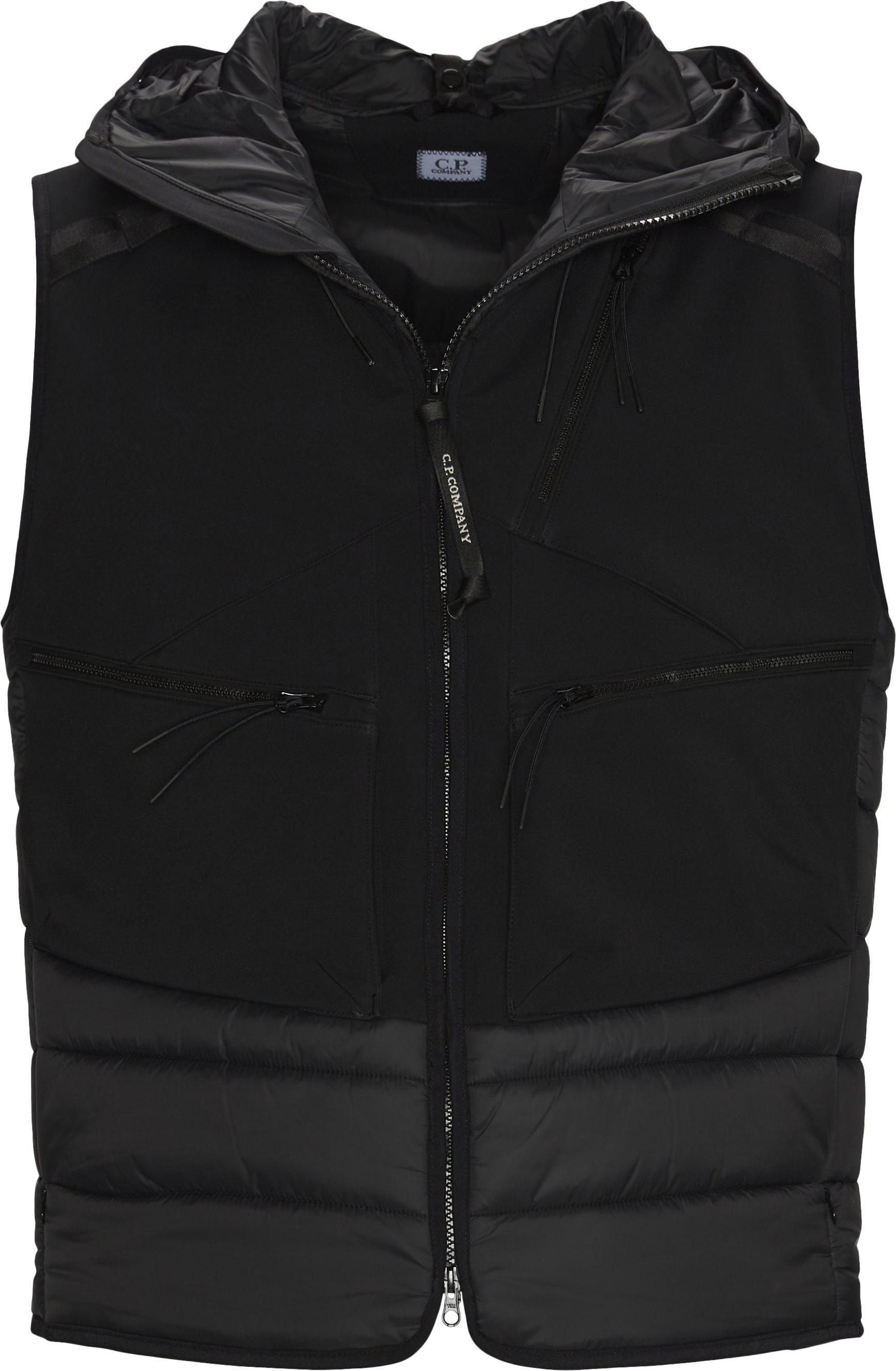 Iconic Goggle Vest - Veste - Regular fit - Sort