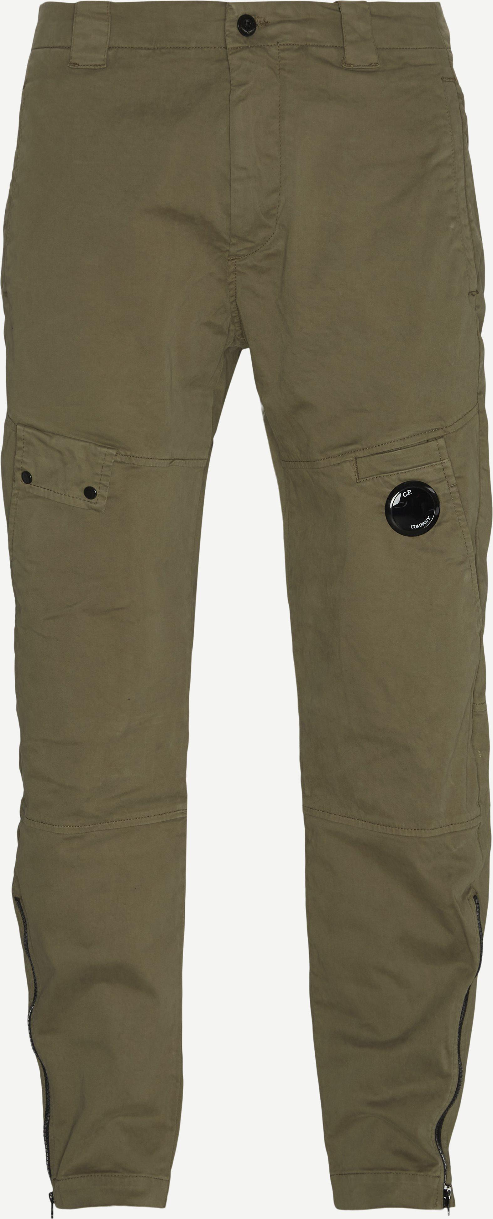 Garment Dyed Pants - Bukser - Regular fit - Army