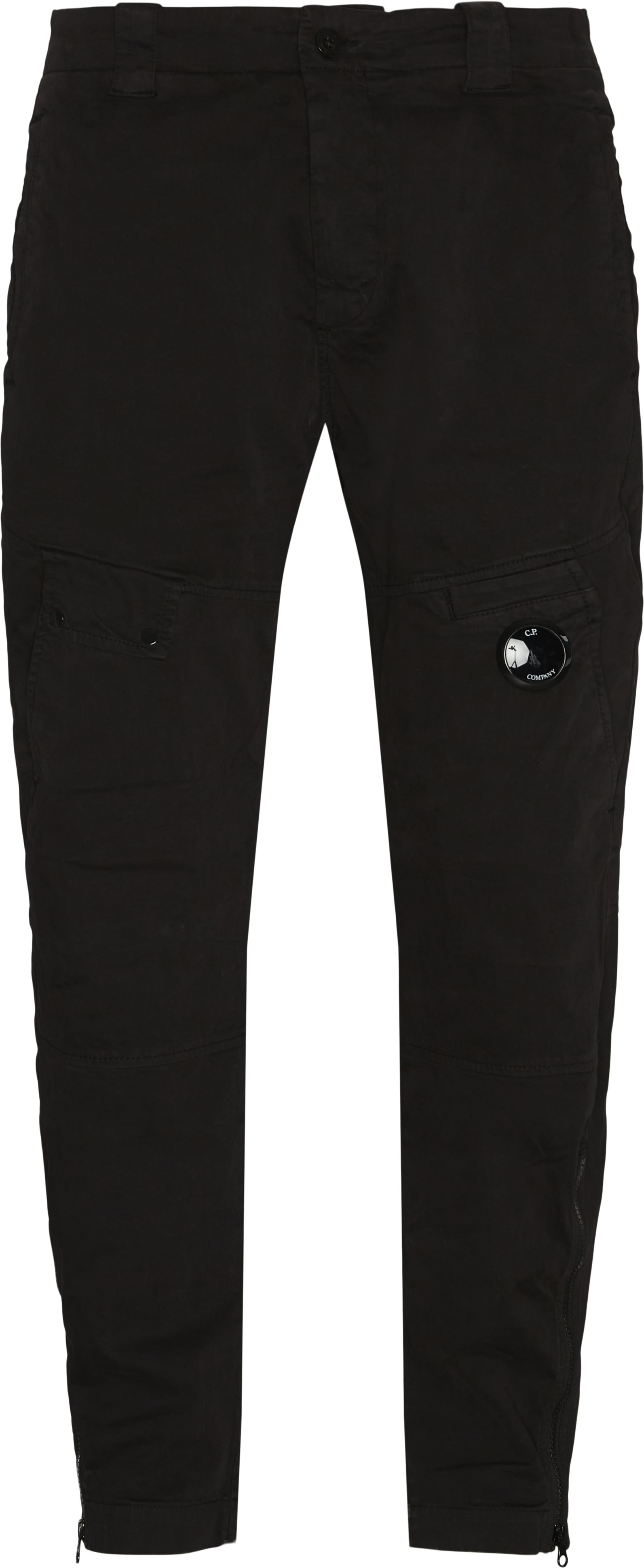 Garment Dyed Pants - Bukser - Regular fit - Sort