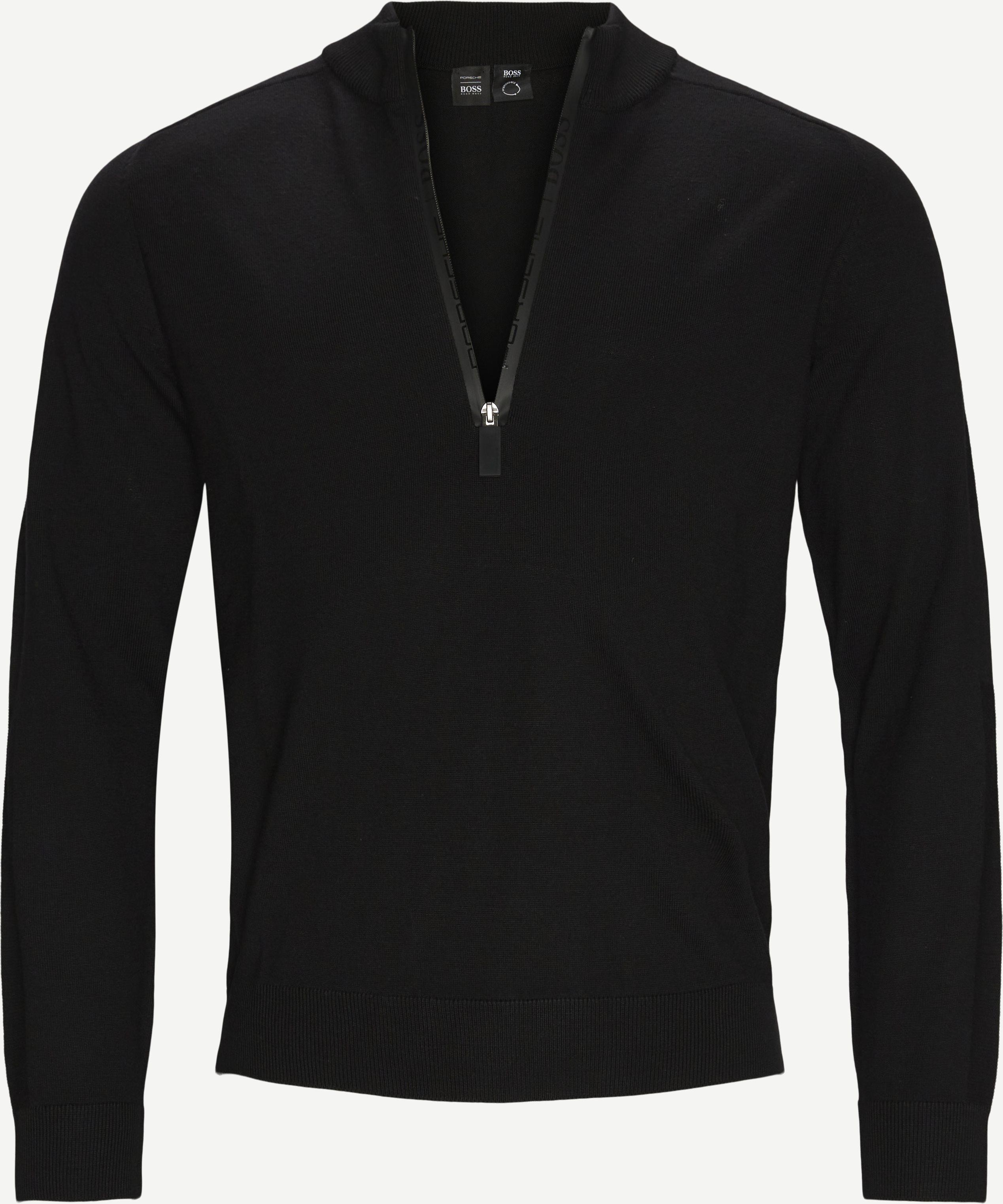 Strickwaren - Regular fit - Schwarz