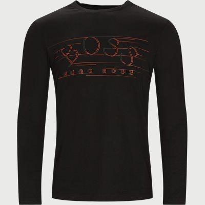 Togn1 Langærmet T-shirt Regular fit | Togn1 Langærmet T-shirt | Sort