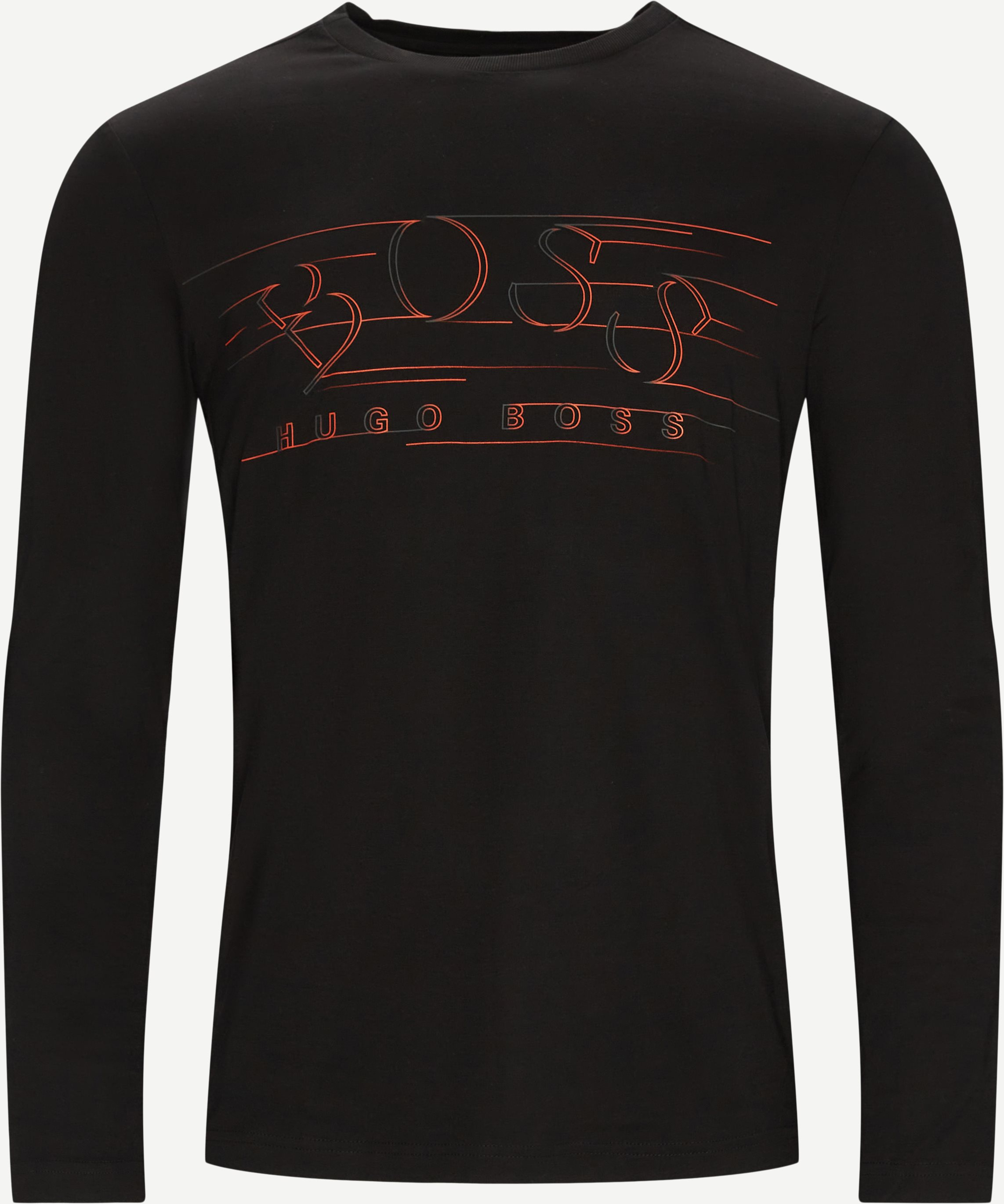 T-Shirts - Regular fit - Schwarz