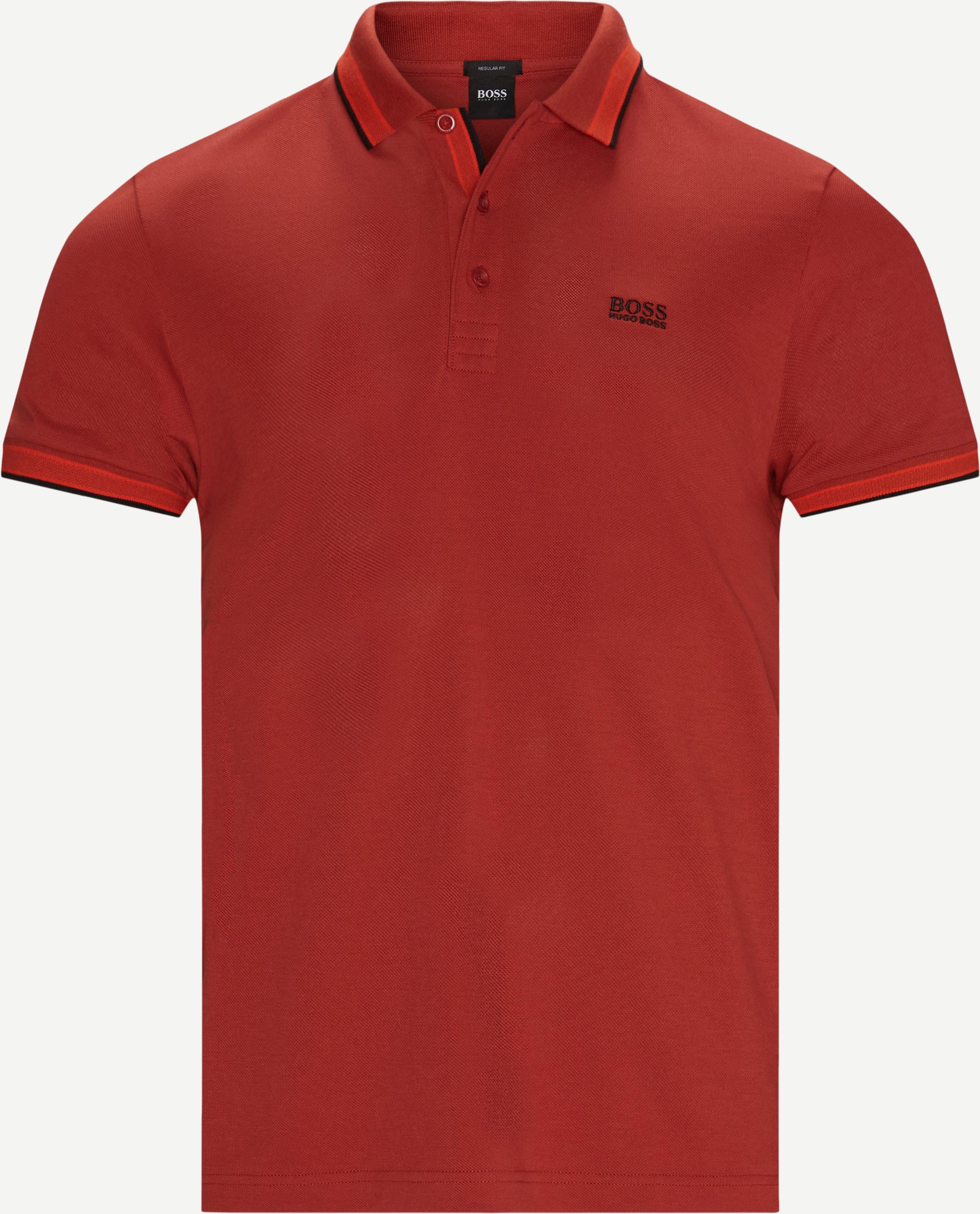 T-shirts - Regular fit - Röd