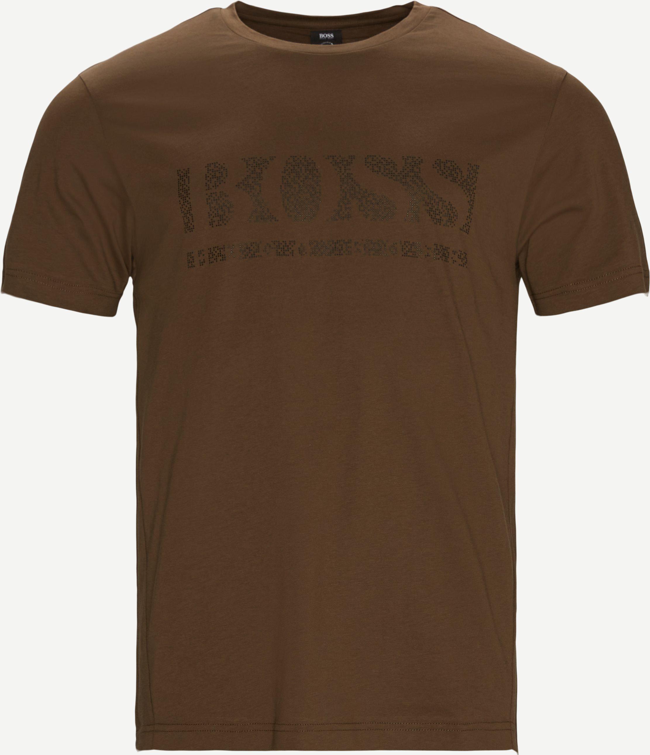 Pixel1 Tee - T-shirts - Regular fit - Army