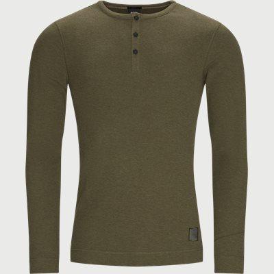 Trix1 Langærmet T-shirt Slim fit   Trix1 Langærmet T-shirt   Army