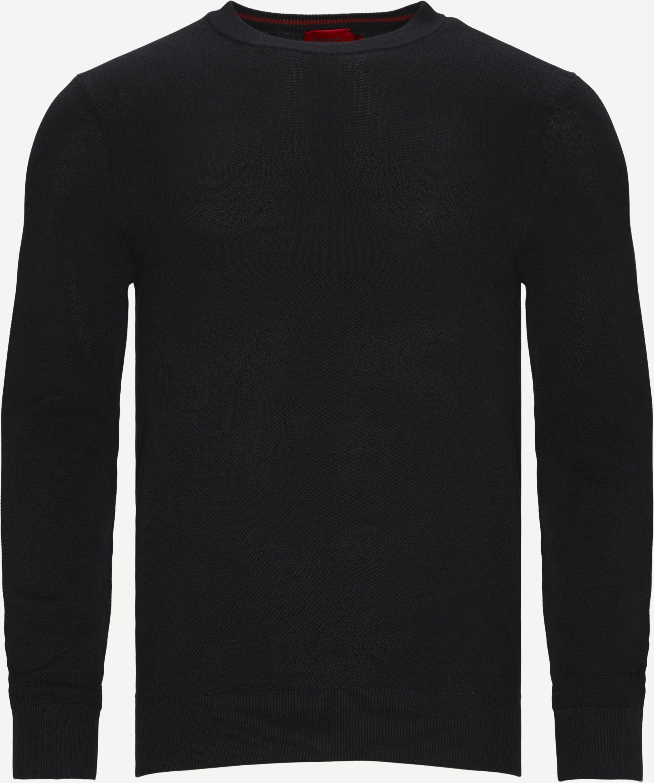 Knitwear - Slim fit - Black