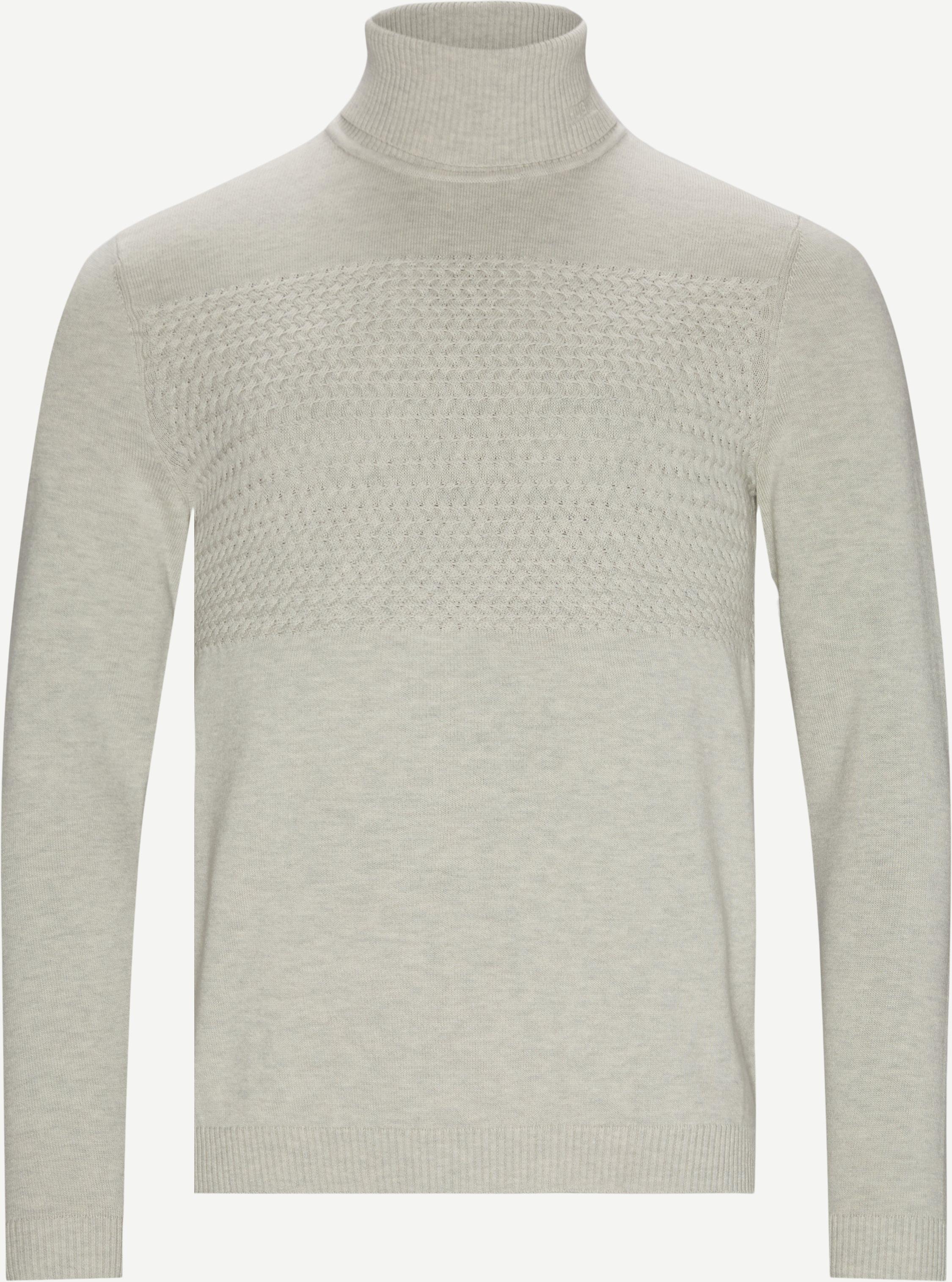 Knitwear - Regular fit - Sand