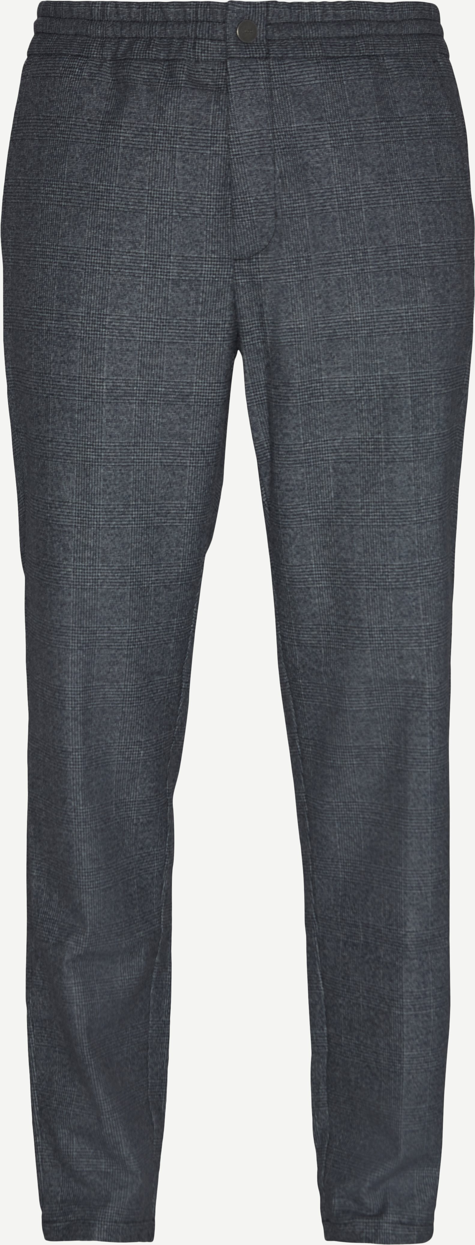Byxor - Slim fit - Blå