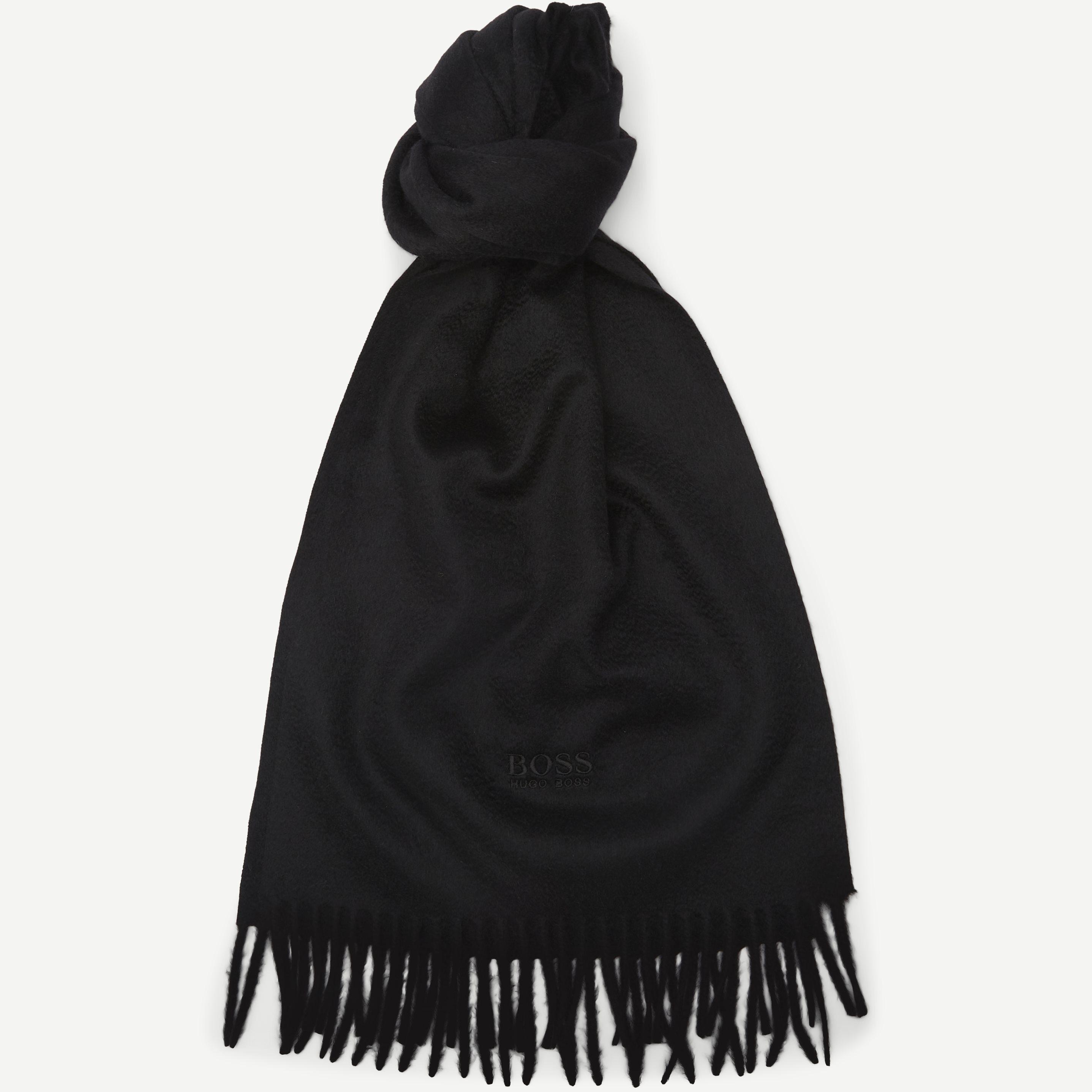 Scottas Scarf - Tørklæder - Sort
