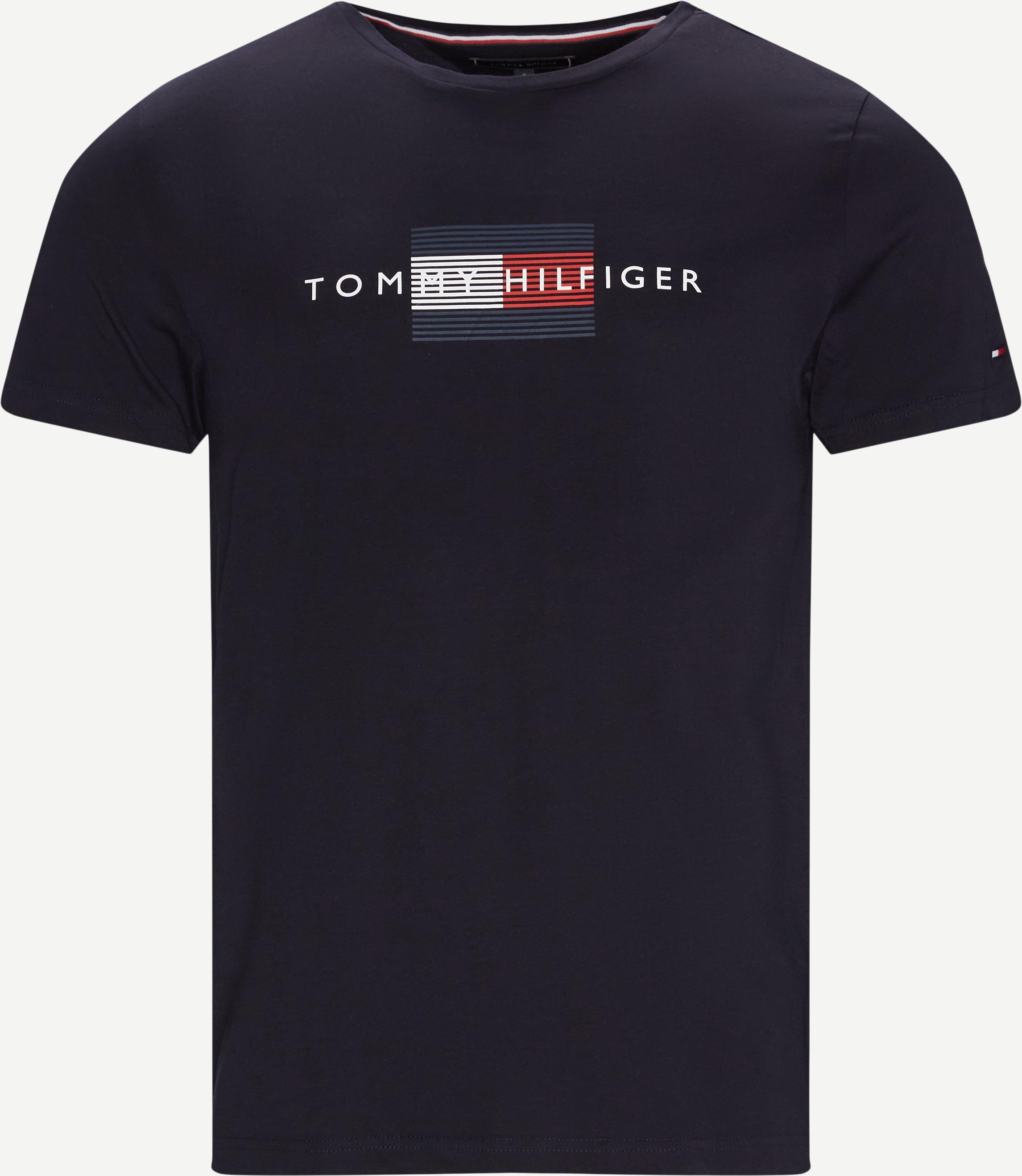 T-shirts - Regular fit - Blå
