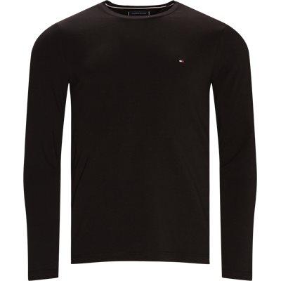 Slim fit | T-shirts | Black