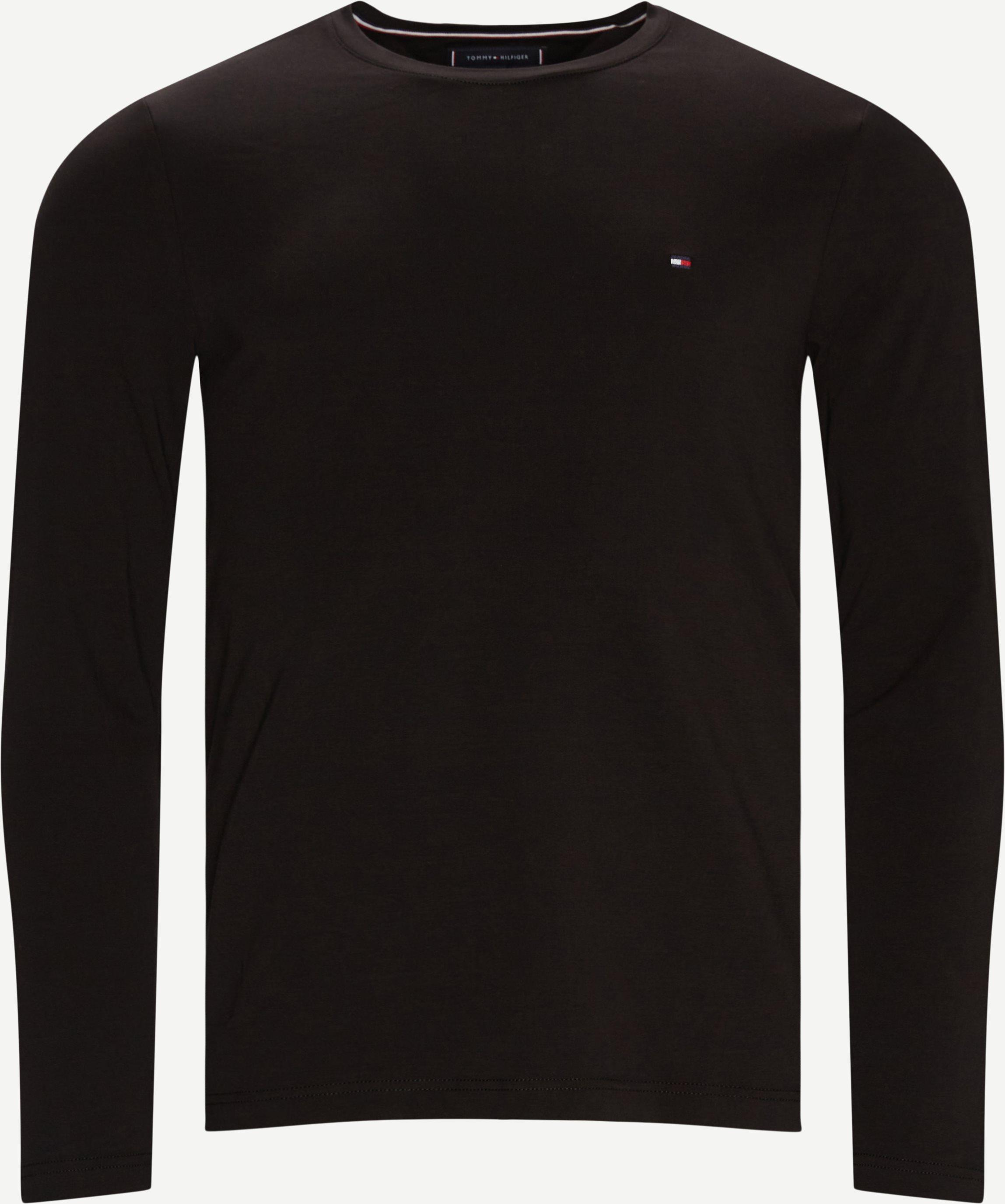 T-shirts - Slim fit - Black