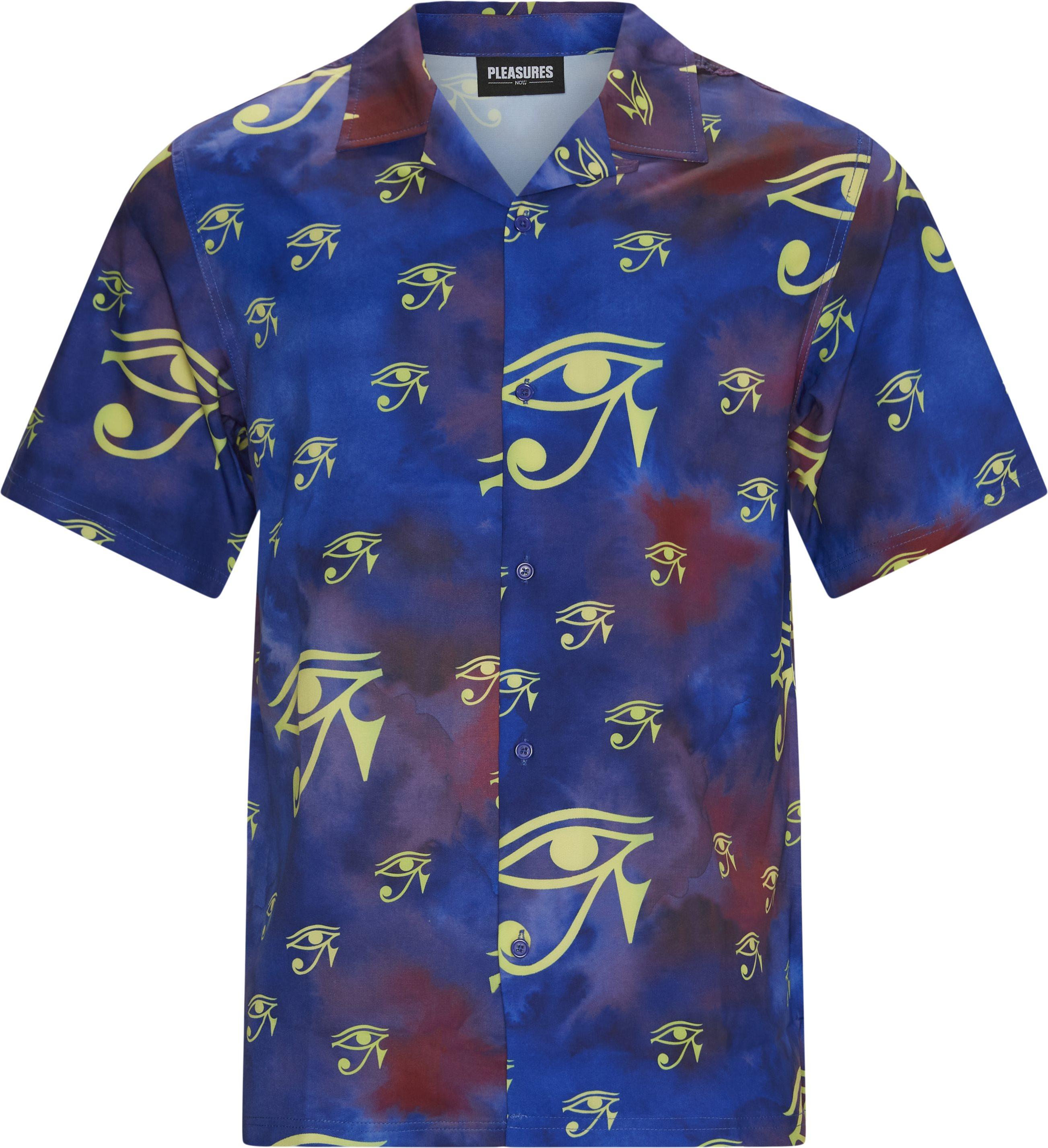 Brendan Rayon Shirt - Skjorter - Regular fit - Lilla