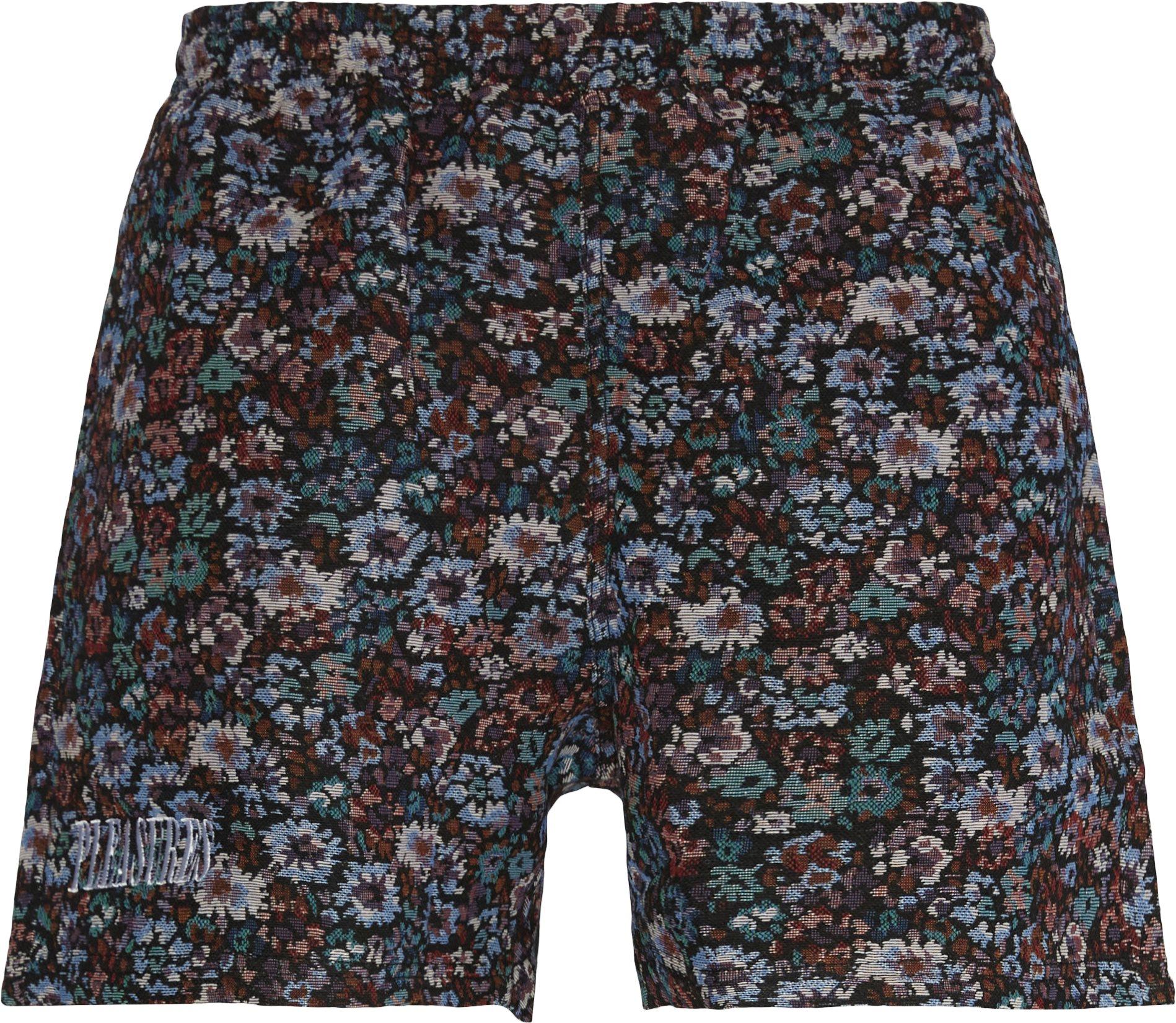 Quitter Floral Shorts - Shorts - Regular fit - Sort