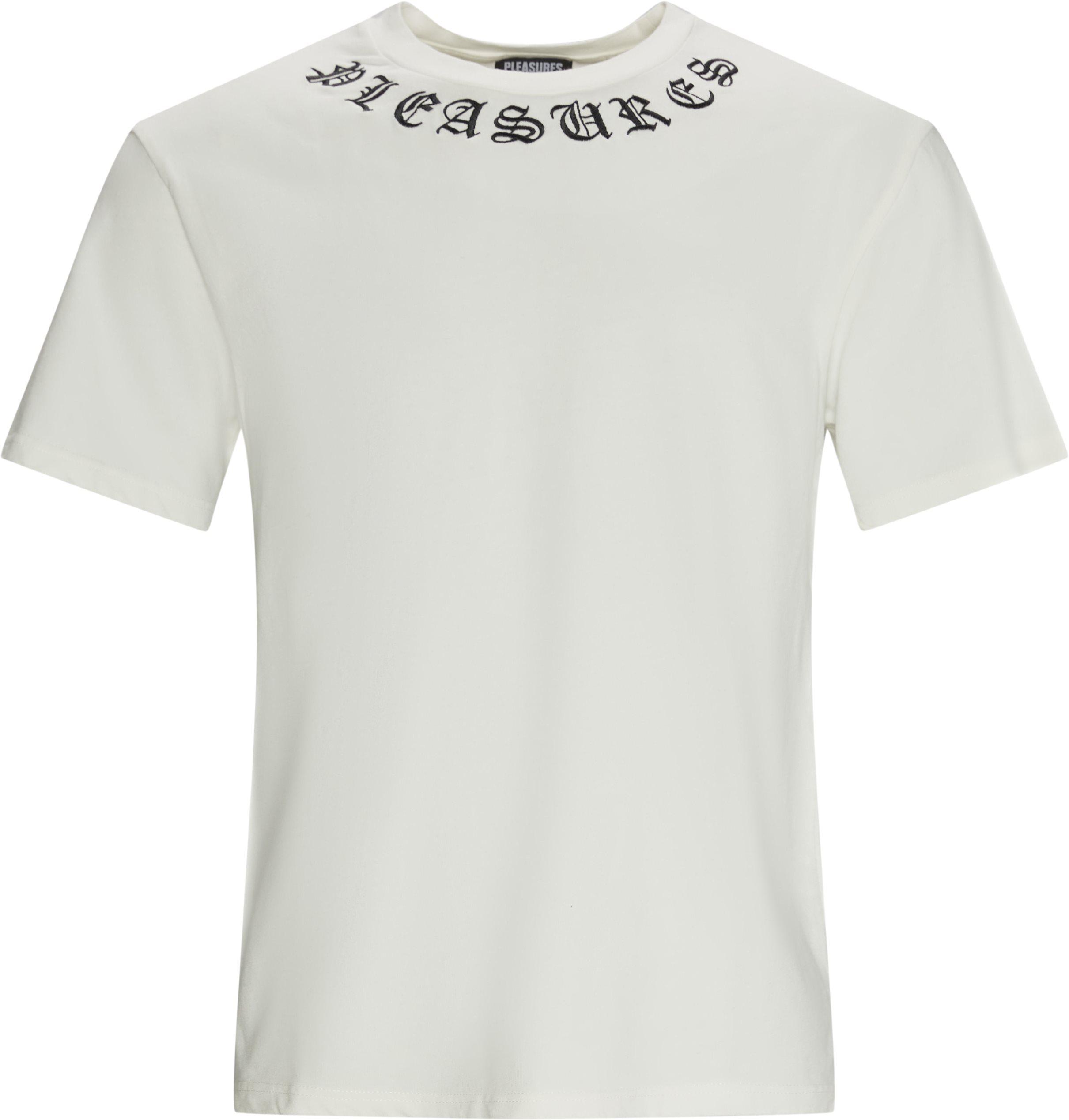 Memento Heavy T-shirt - T-shirts - Regular fit - Hvid
