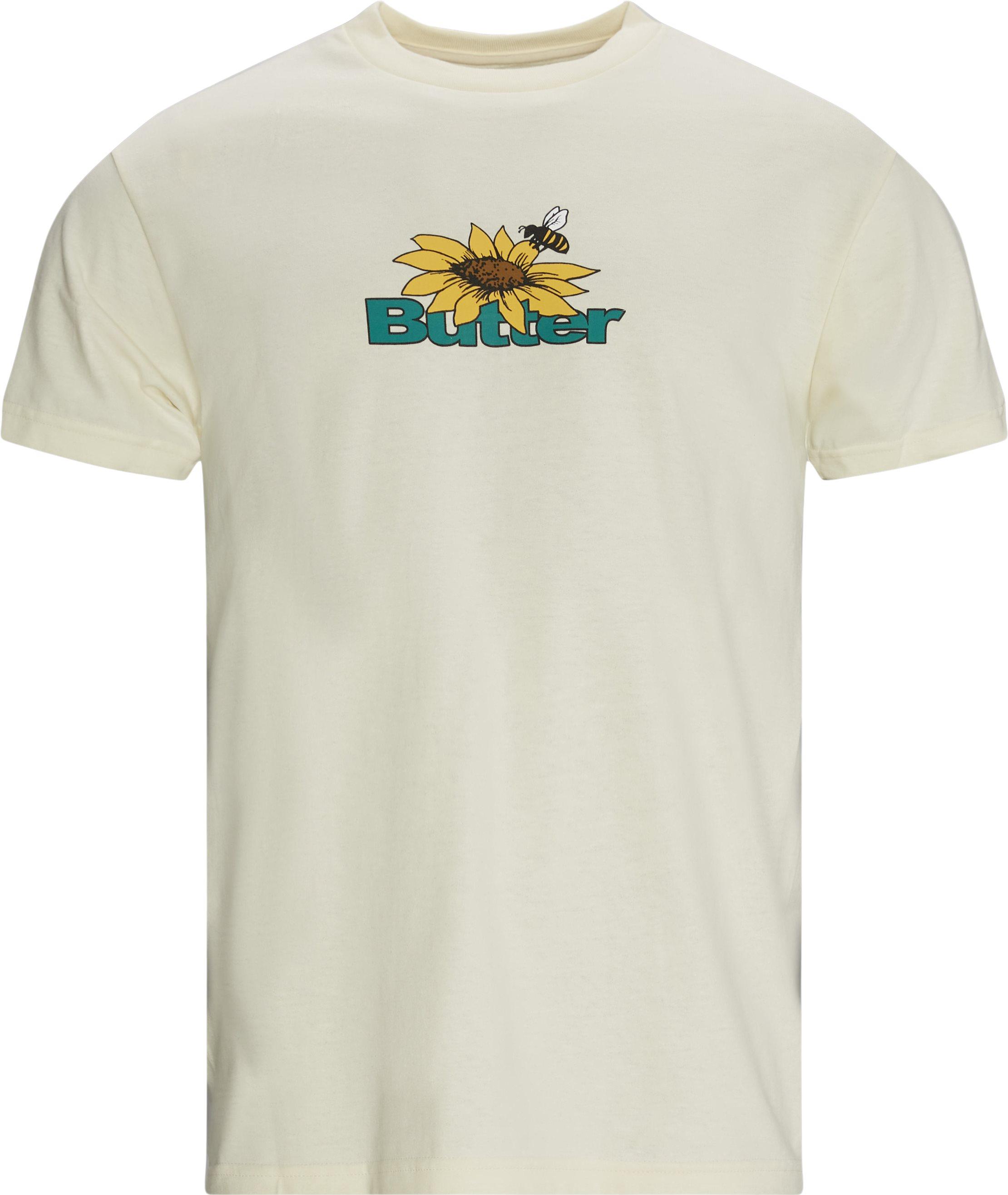 T-shirts - Regular fit - Sand