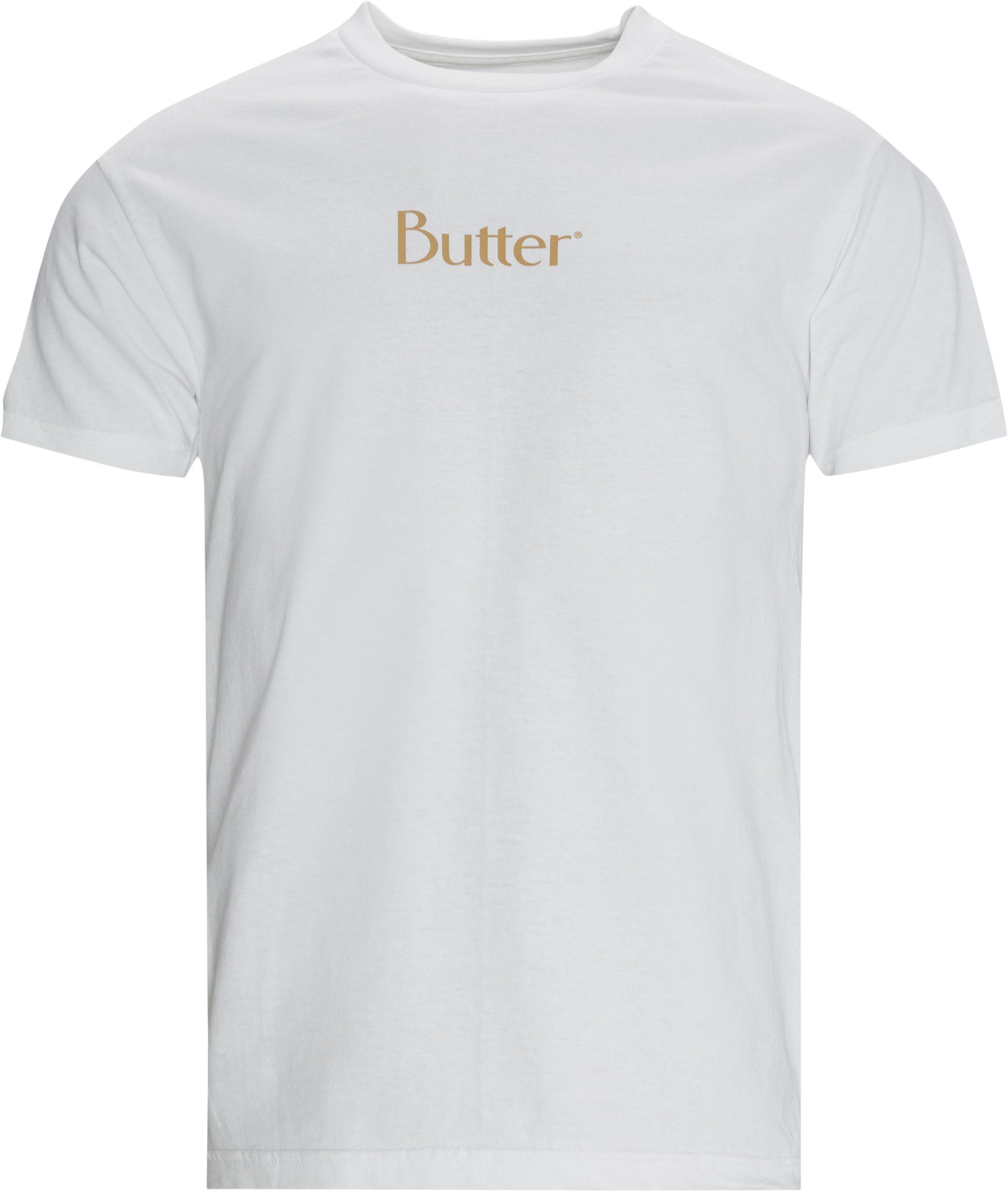 CLASSIC LOGO t-shirt - T-shirts - Regular fit - Hvid