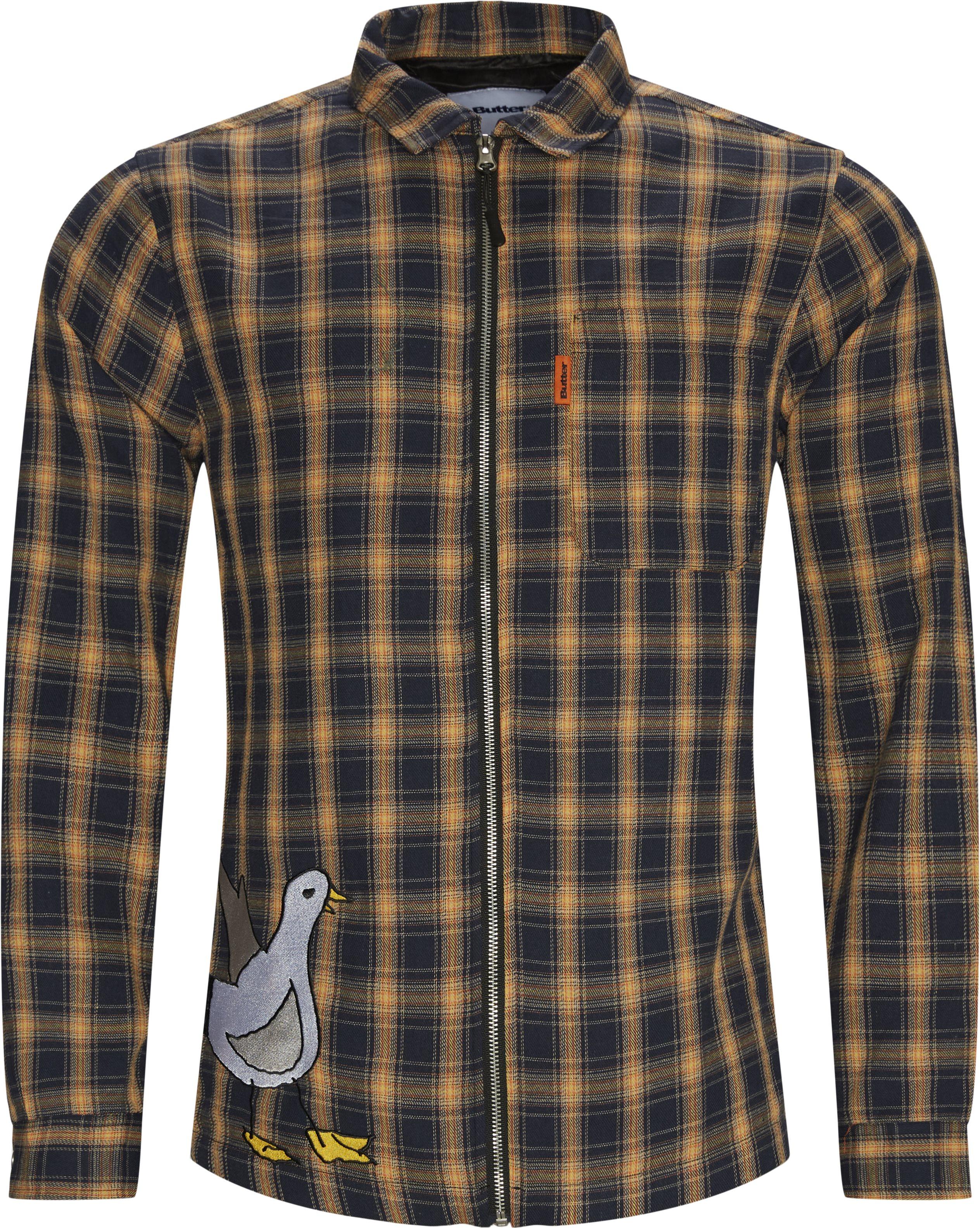 Gullwing Plaid Vindjakke - Jackor - Regular fit - Blå