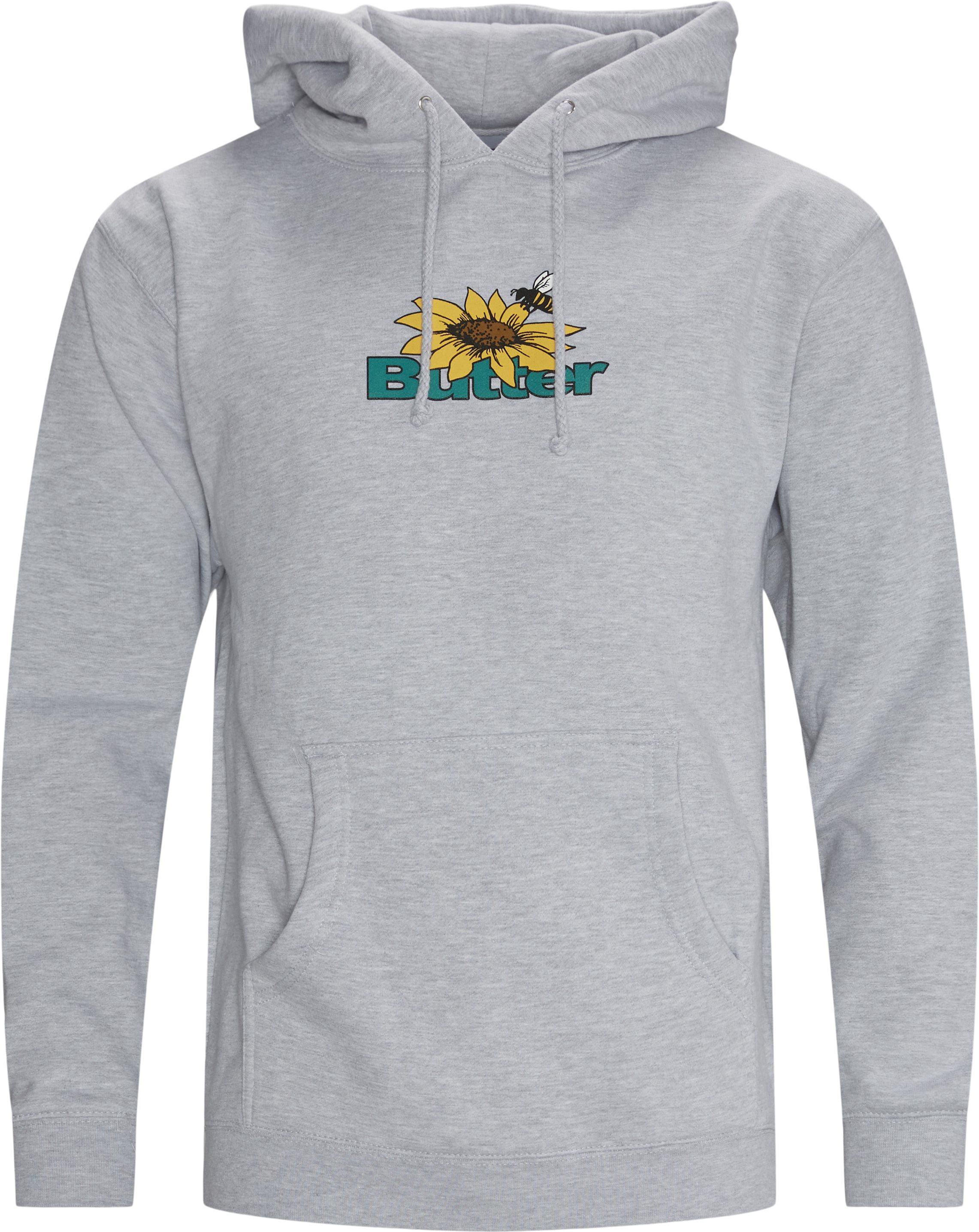 Sunflower Hoodie - Sweatshirts - Regular fit - Grå
